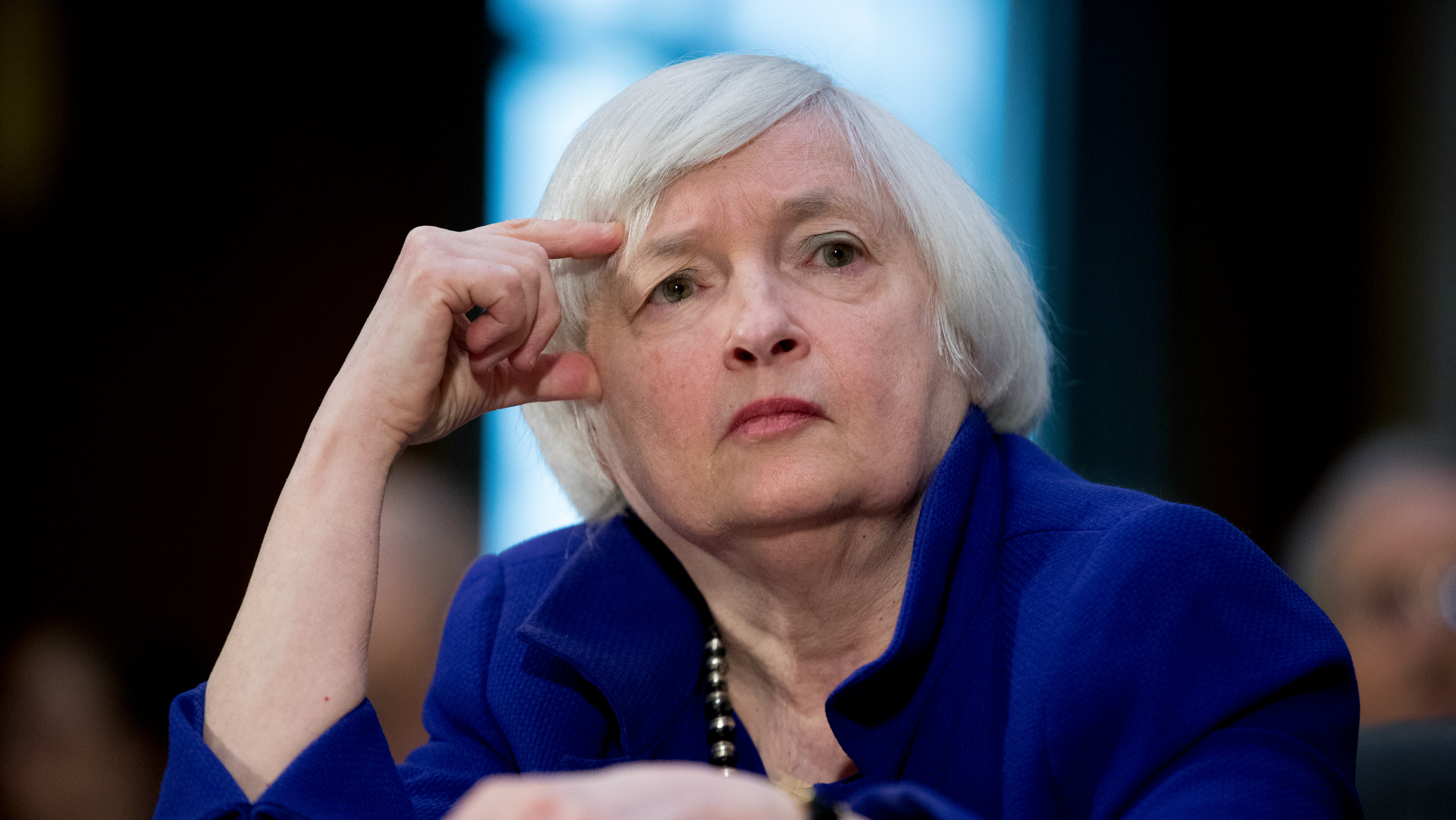 Photo of Federal Bank Chair Janet Yellen.