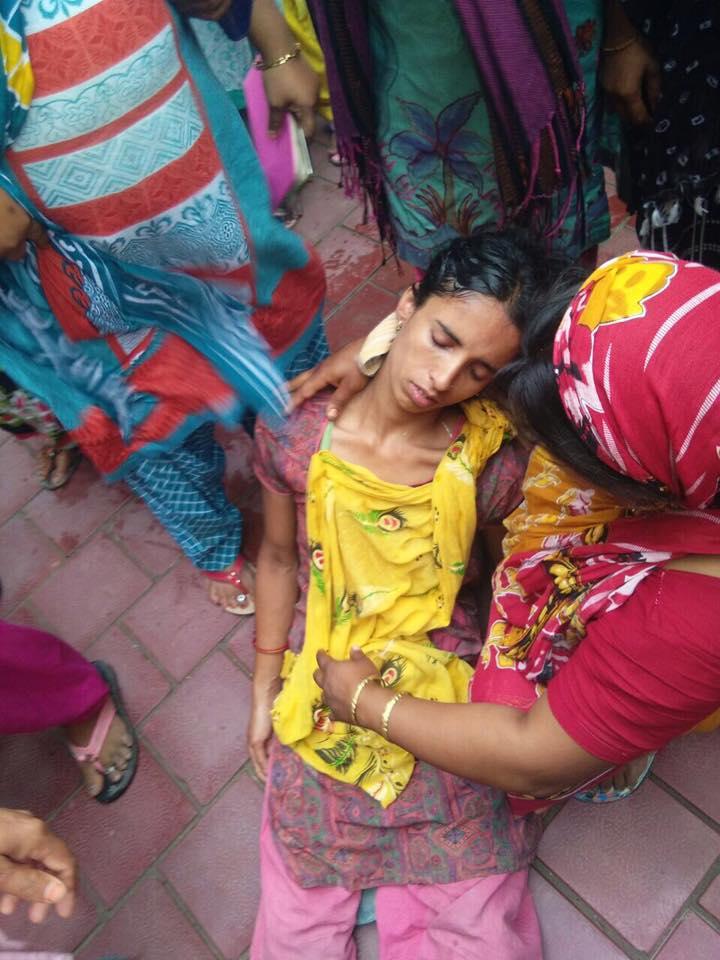 Zohra, a domestic help in Noida