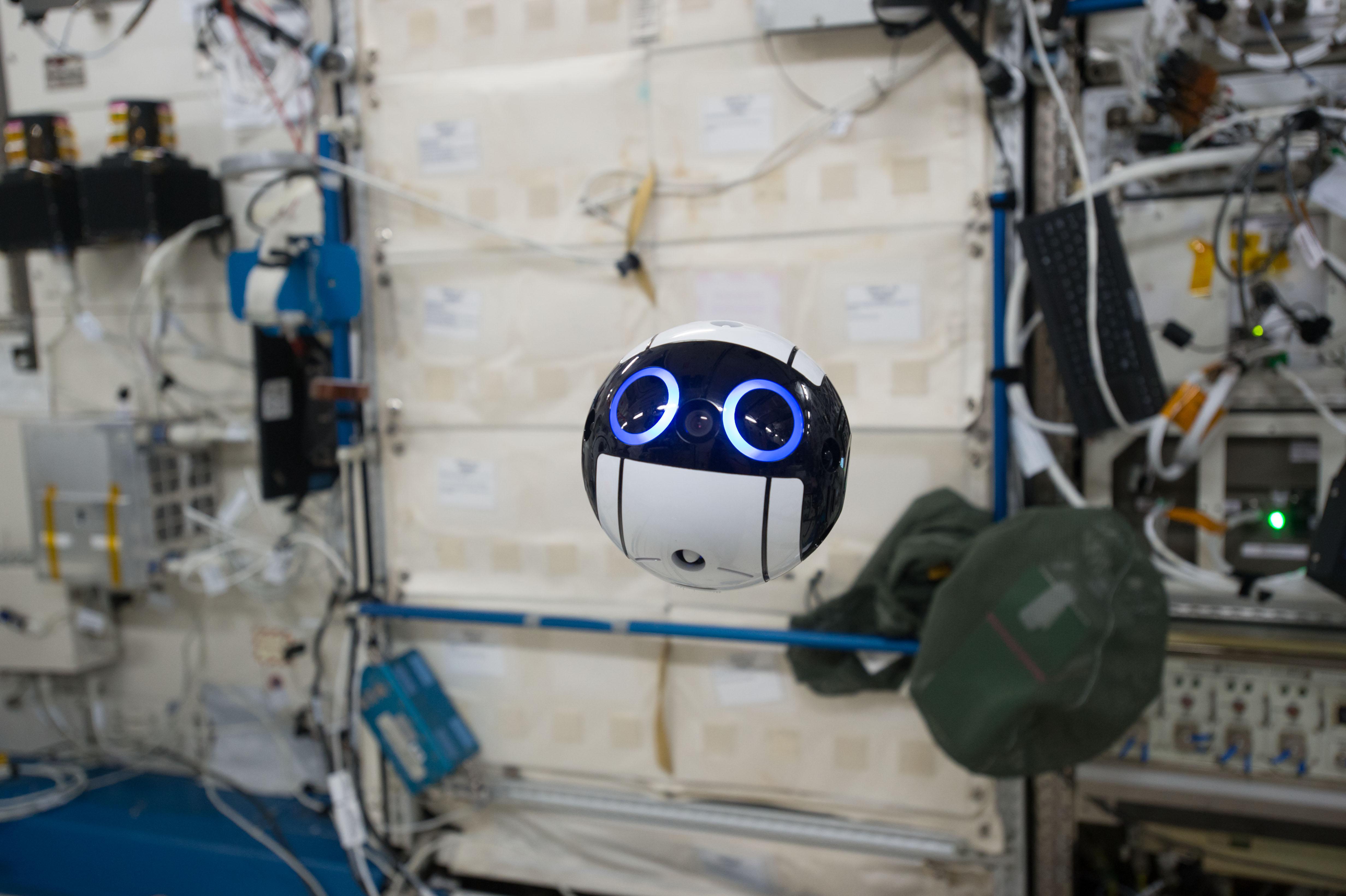 Meet Int-Ball, Japan's time-saving space camera.