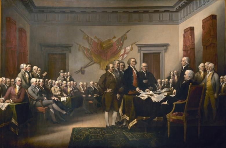 John Trumbull Signers of the Declaration