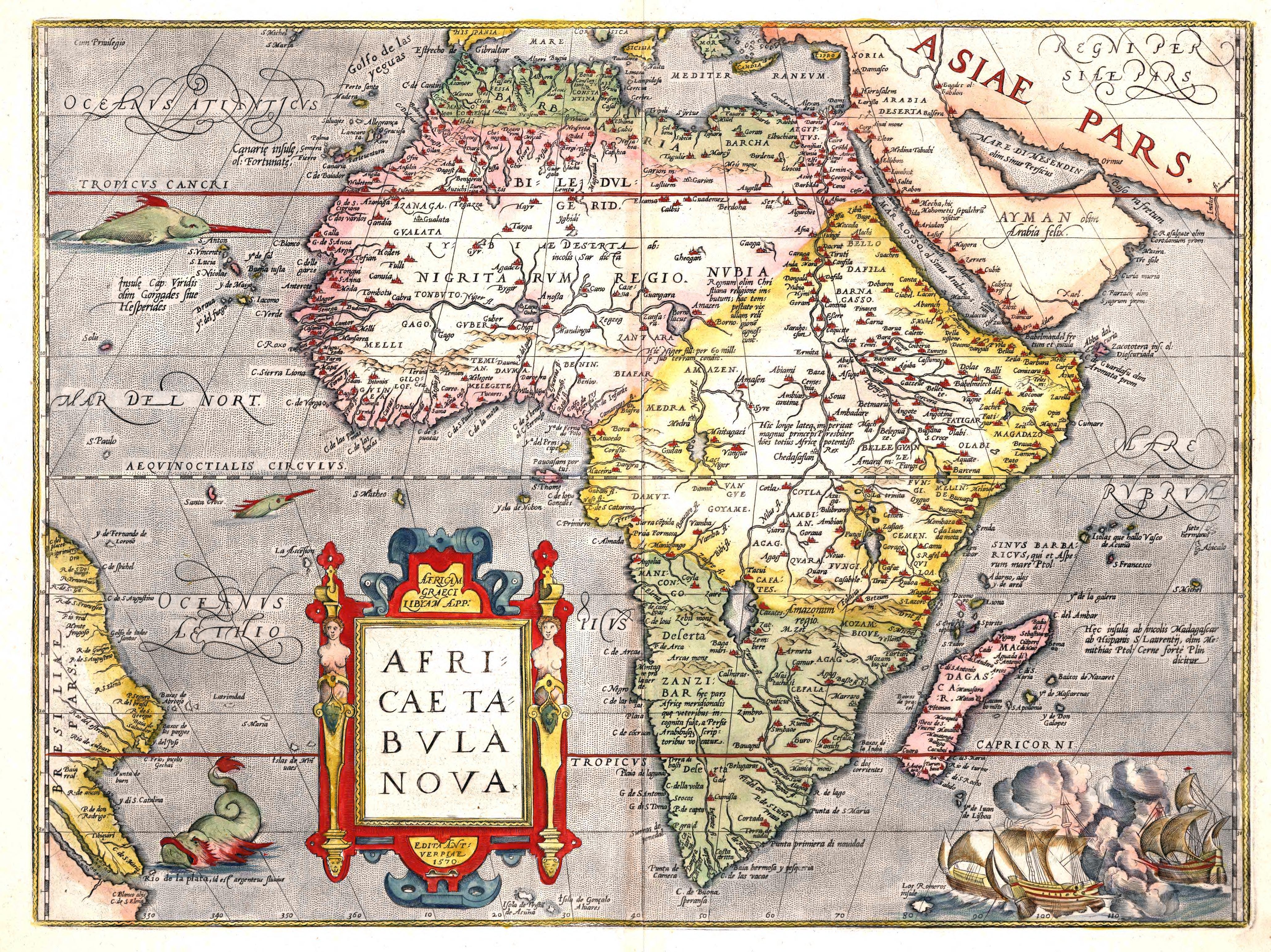 Africae Tabula Nova