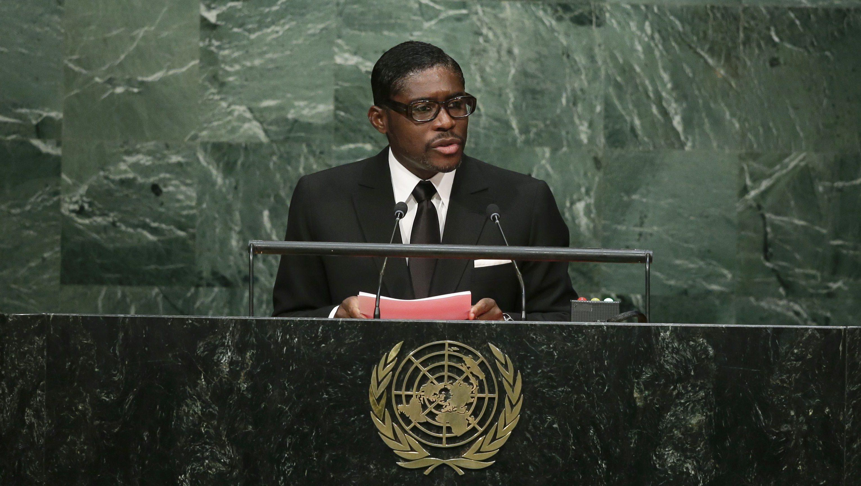 Teodoro Nguema Obiang Mangue, Vice-President of Equatorial Guinea.