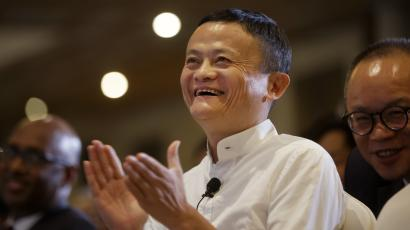 Chinese business magnate, founder and executive chairman of the e-commerce Alibaba Group, Jack Ma applauds as he attends an entrepreneurship discussion in Nairobi, Kenya Thursday, July 20, 2017. Ma, a Special Adviser to the United Nations Conference on Trade and Development (UNCTAD) for Youth Entrepreneurship and Small Business, is on a two-day visit to discuss entrepreneurship, e-commerce and China-Africa trade and business opportunities.