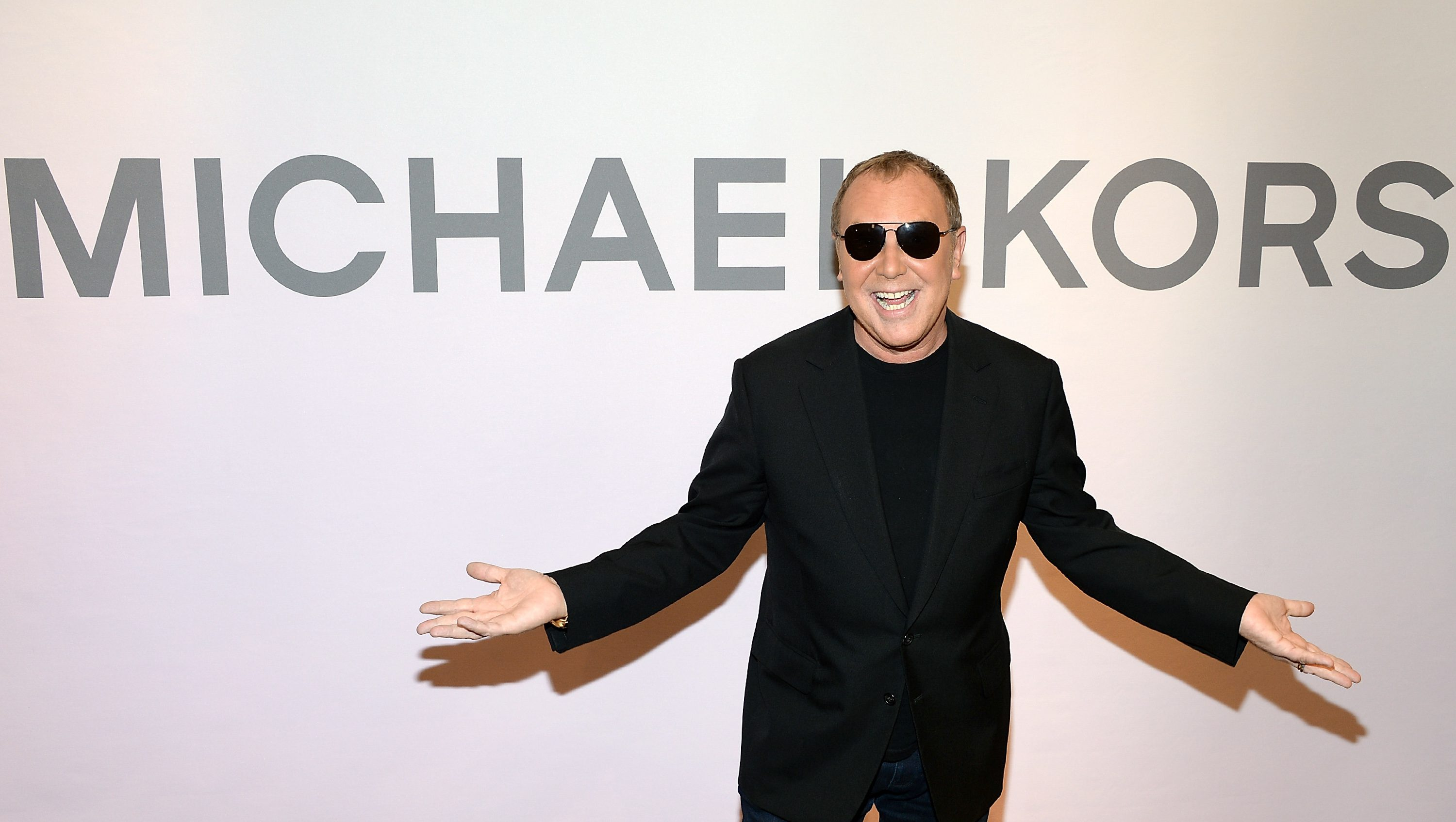 Designer Michael Kors attends the Miranda Eyewear Collection launch event at his SoHo Flagship store, on Wednesday, Feb. 18, 2015, in New York. (Photo by Evan Agostini/Invision/AP)