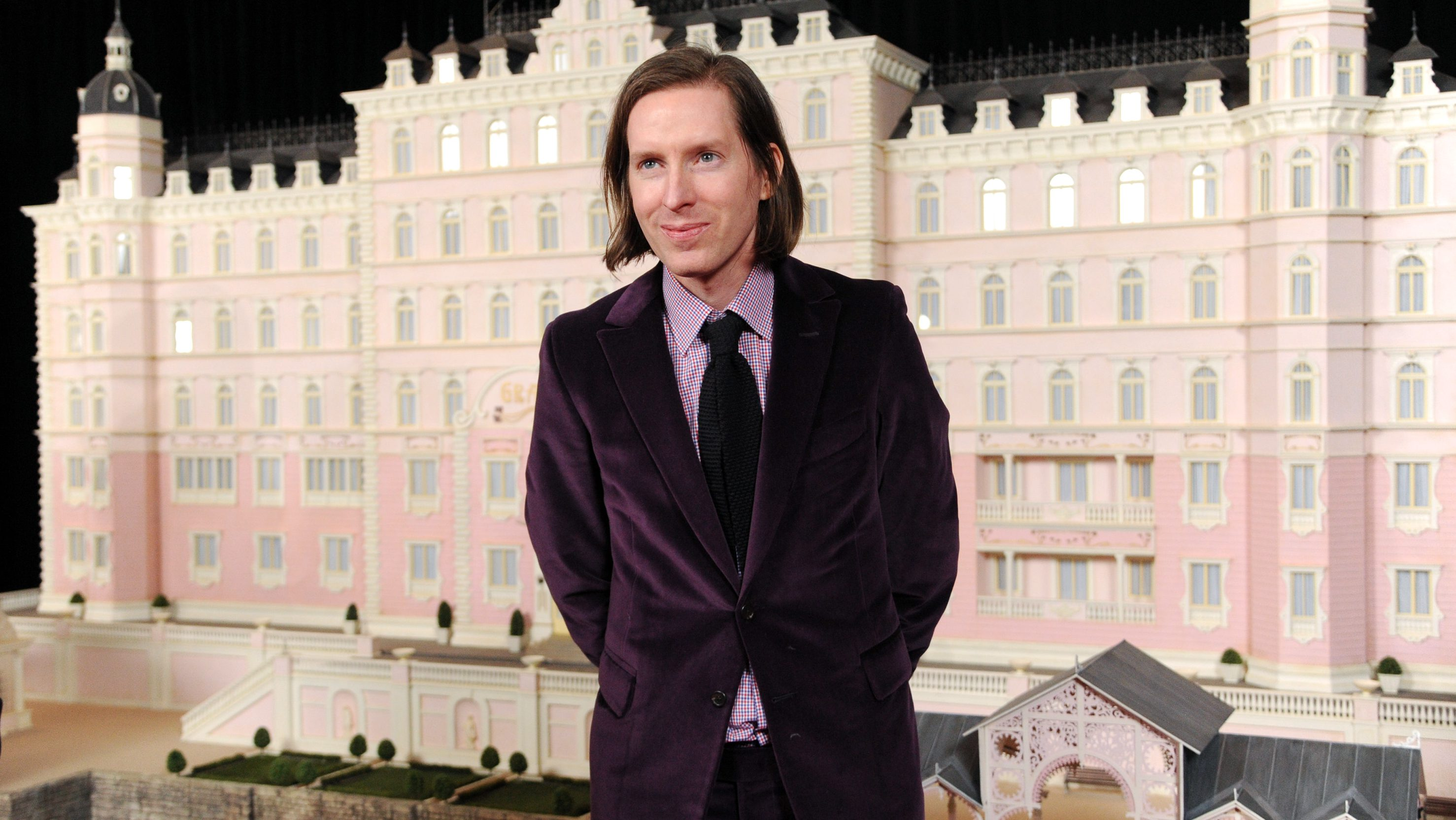 "Writer-director Wes Anderson attends the premiere of Fox Searchlight Pictures' ""The Grand Budapest Hotel"" at Alice Tully Hall on Wednesday, Feb. 26, 2014 in New York. (Photo by Evan Agostini/Invision/AP)"