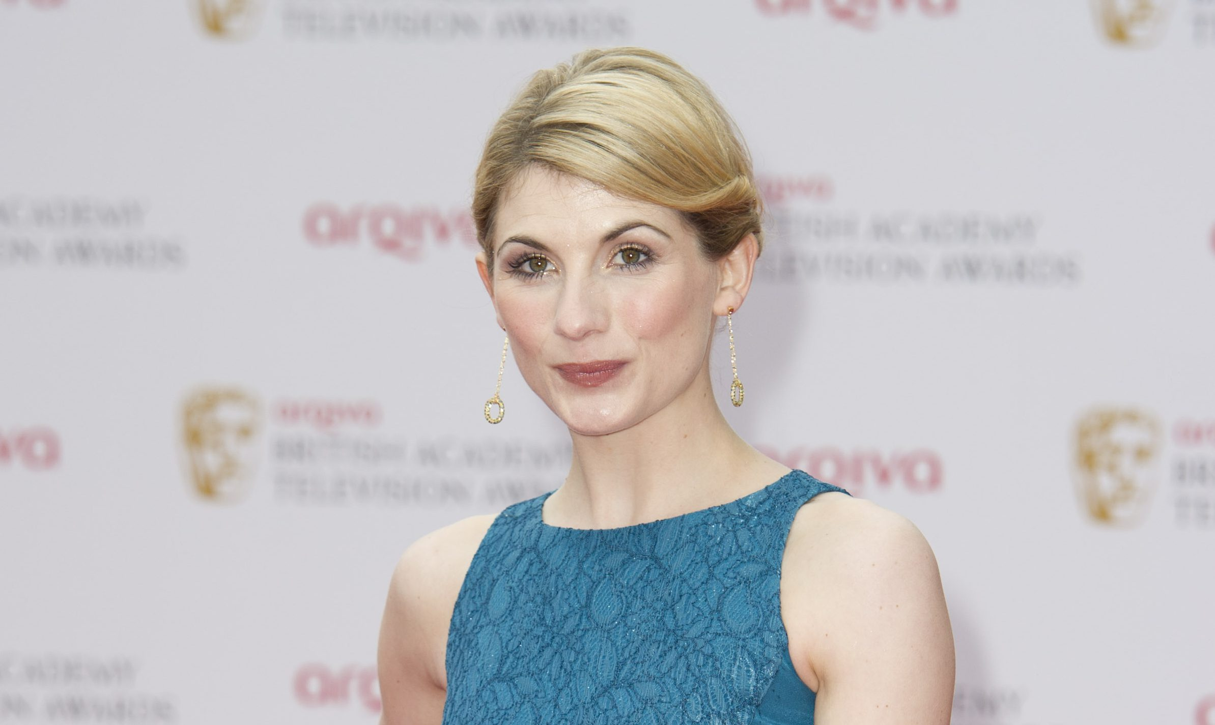 Jodie Whittaker arrives for the British Academy Television Awards BAFTA, in London, Sunday, May. 12, 2013.