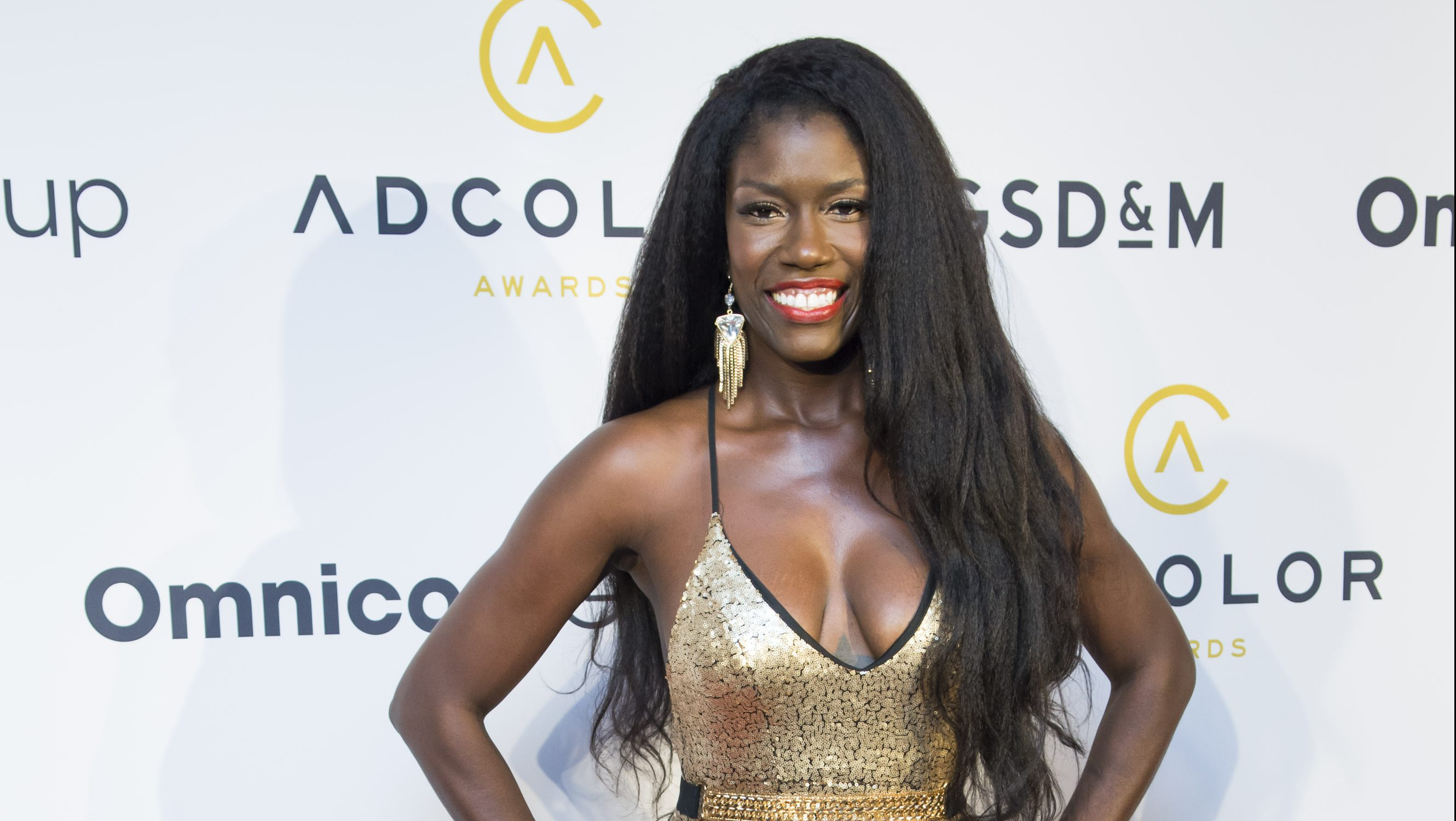 Bozoma Saint John at the ADCOLOR 10th Annual Awards at the Boca Raton Resort & Club  on Wednesday, Sept. 21, 2016 in Boca Raton, Florida. (Photo by Mitchell Zachs/Invision for ADCOLOR/AP Images)