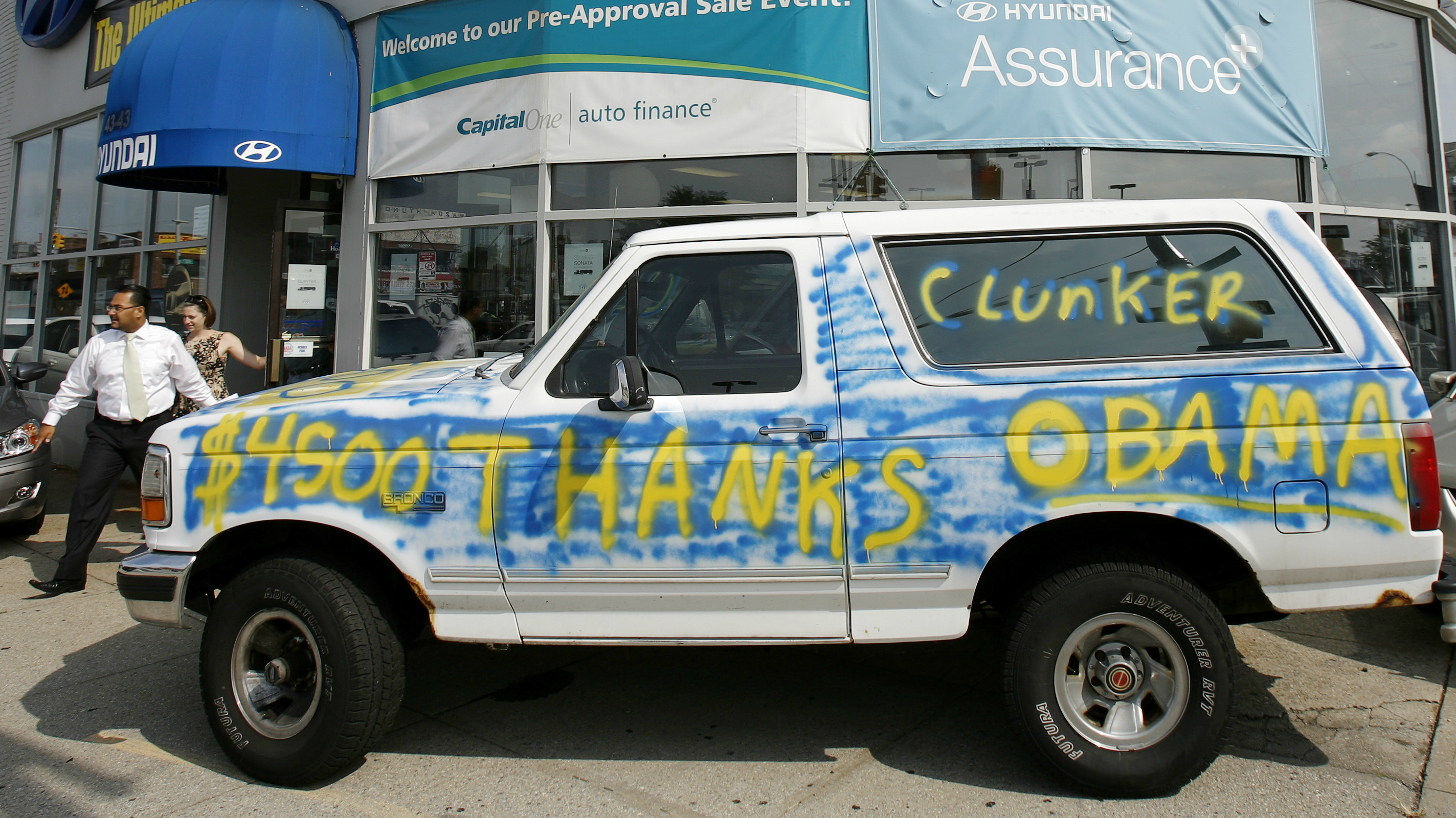 Why did Cash for Clunkers fail A new paper explains how Obama s