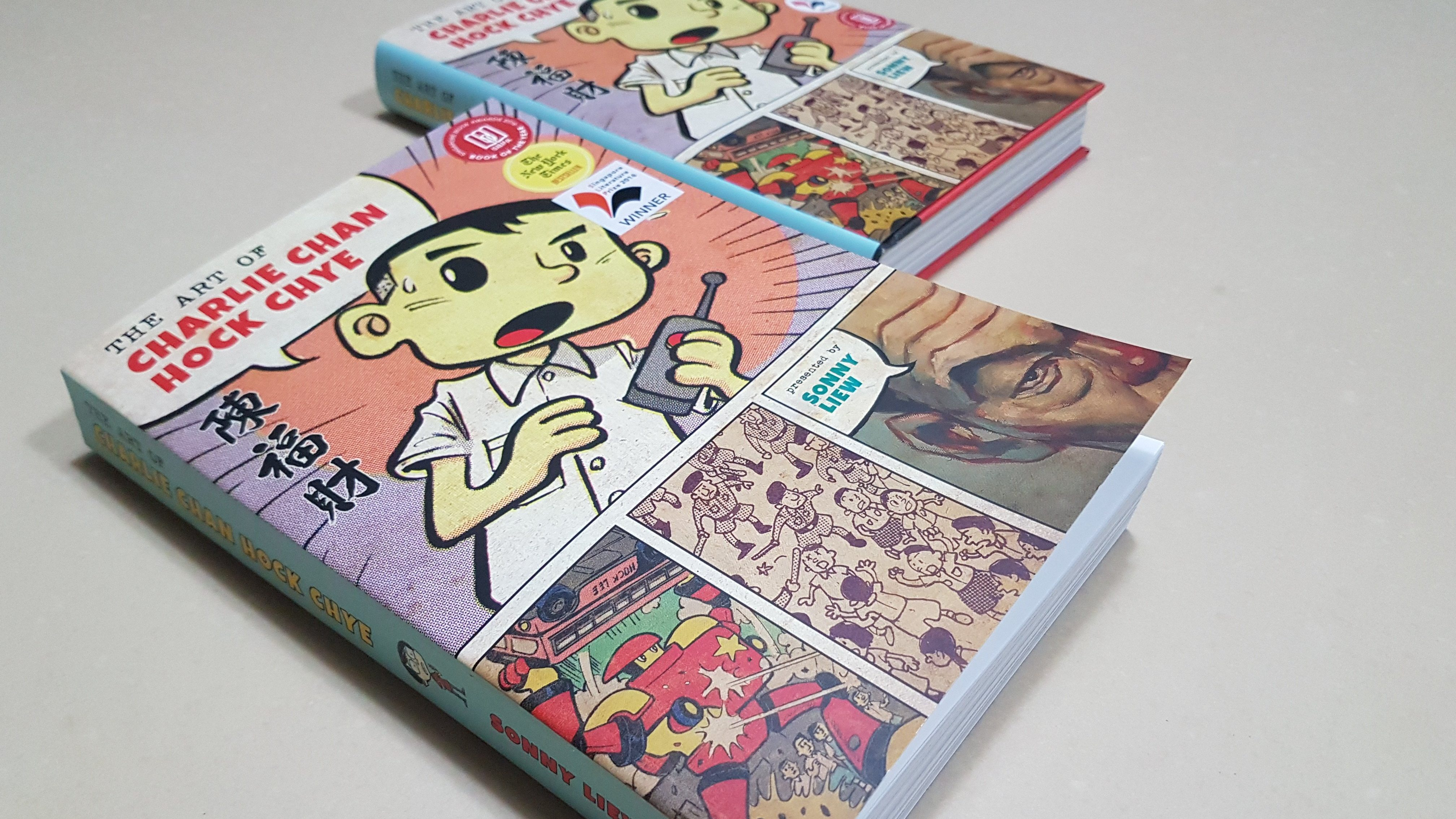 "Two copies of ""The Art of Charlie Chan Hock Chye"""