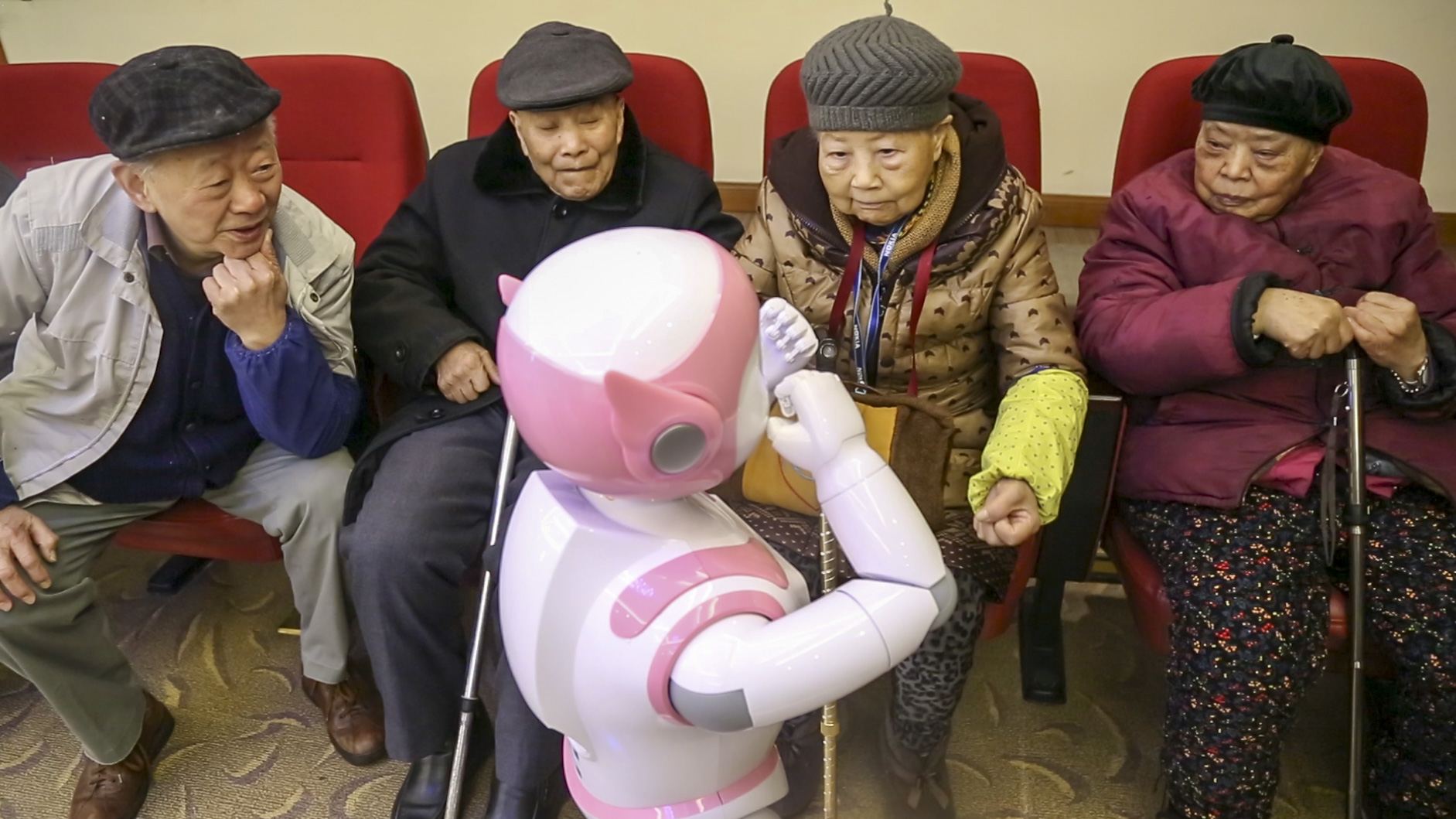 dance with robot