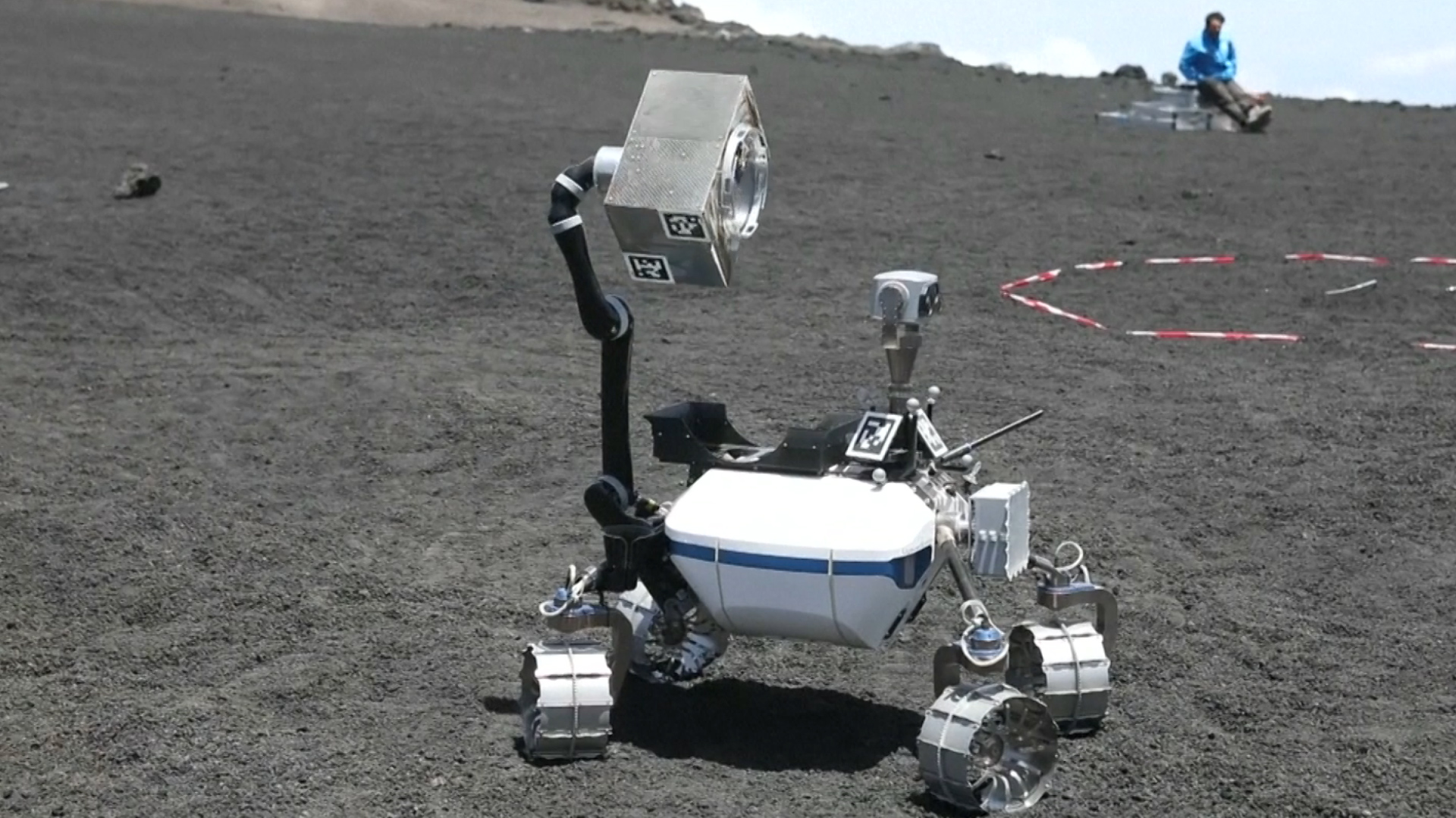 This robot is going to be measuring seismic activity on the Moon.