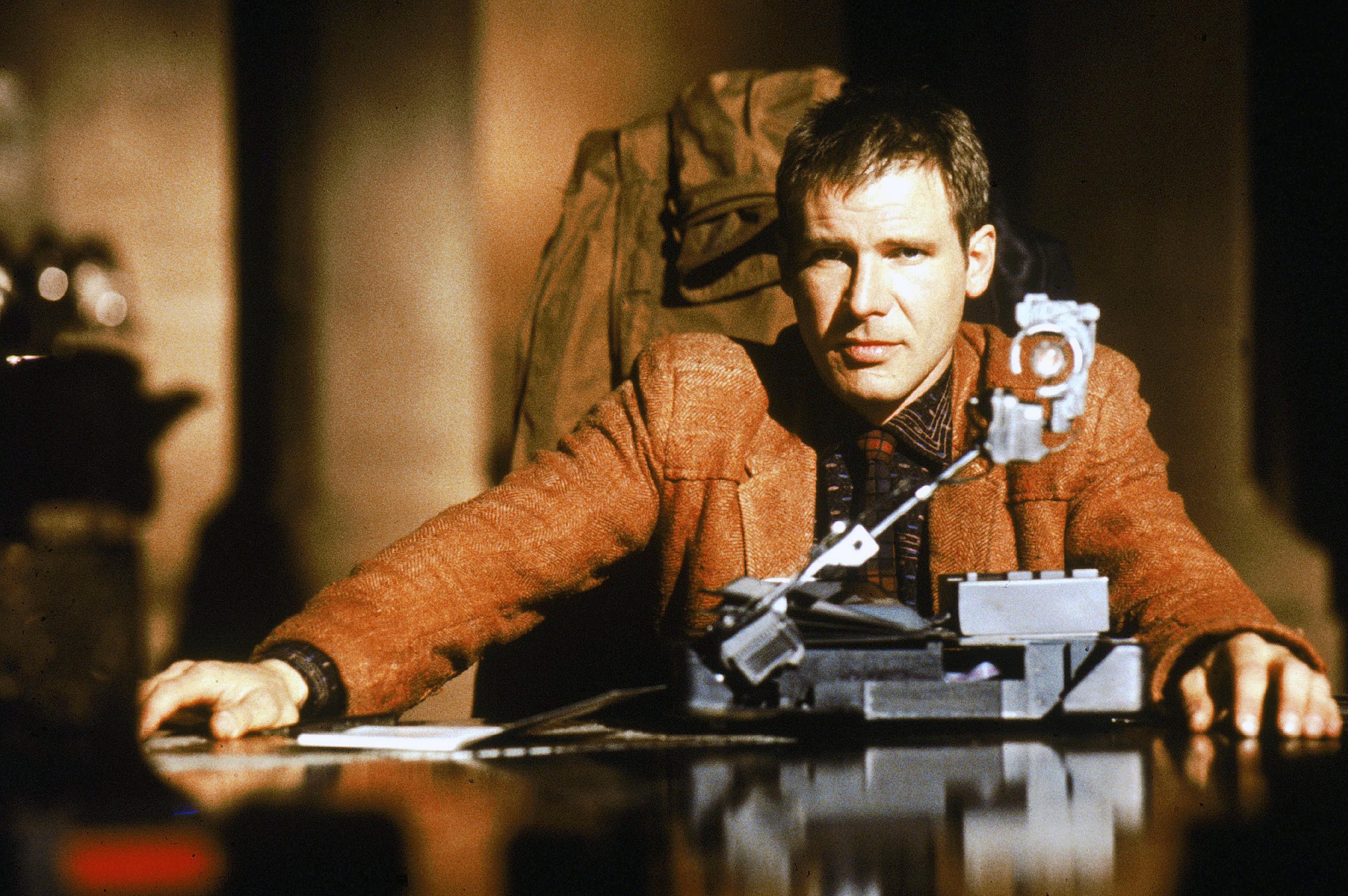 """On the Set of """"Blade Runner"""""""