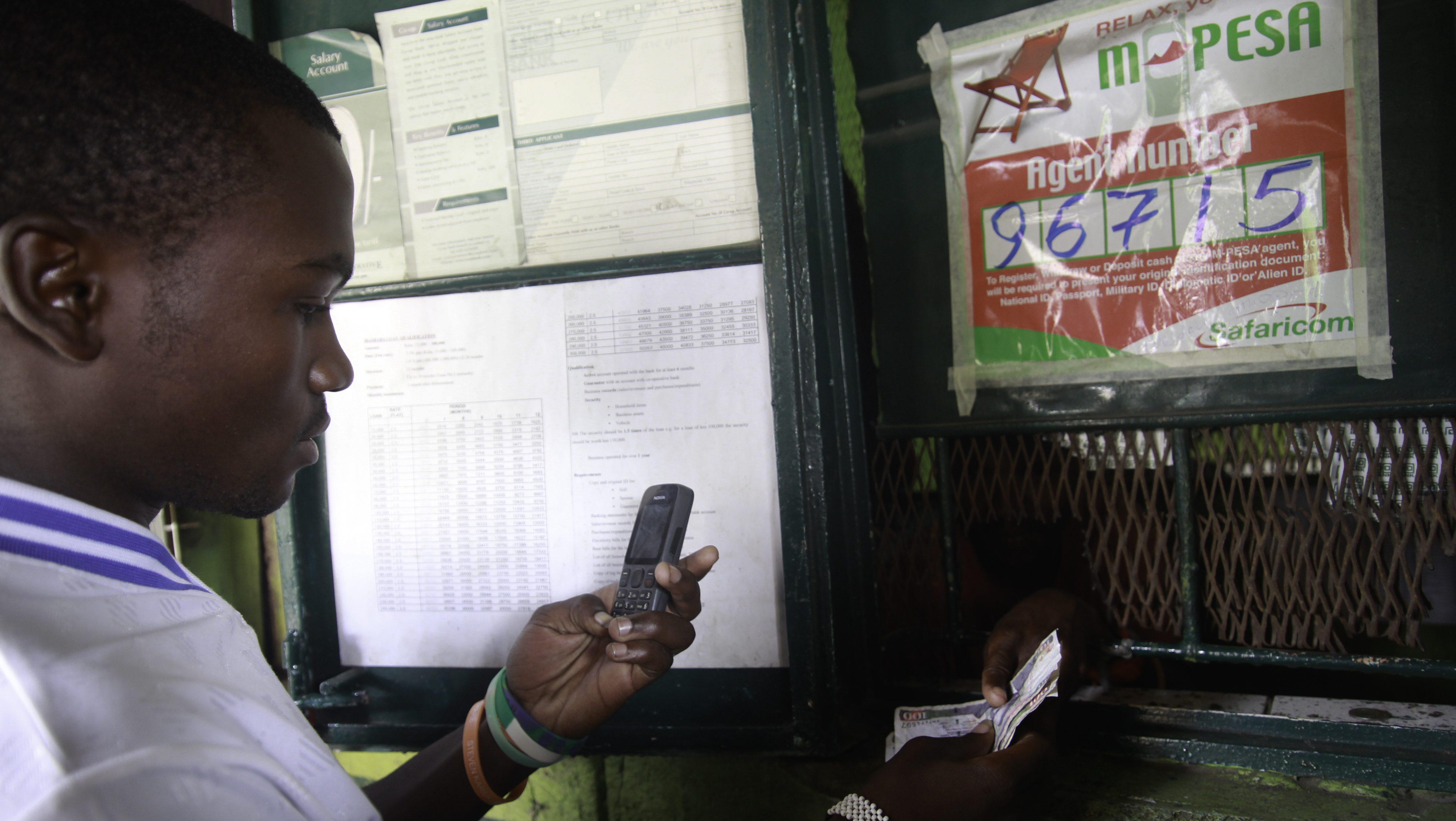 Kenya's new mobile banking application M-Shwari