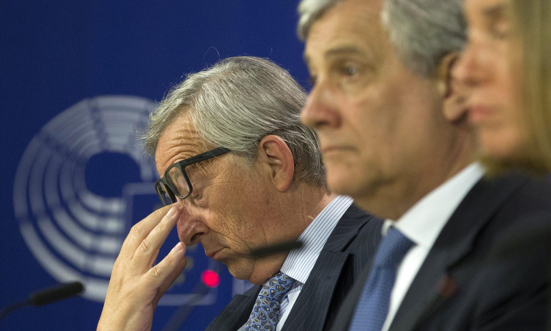 EU commission President Jean-Claude Juncker President of the European parliament