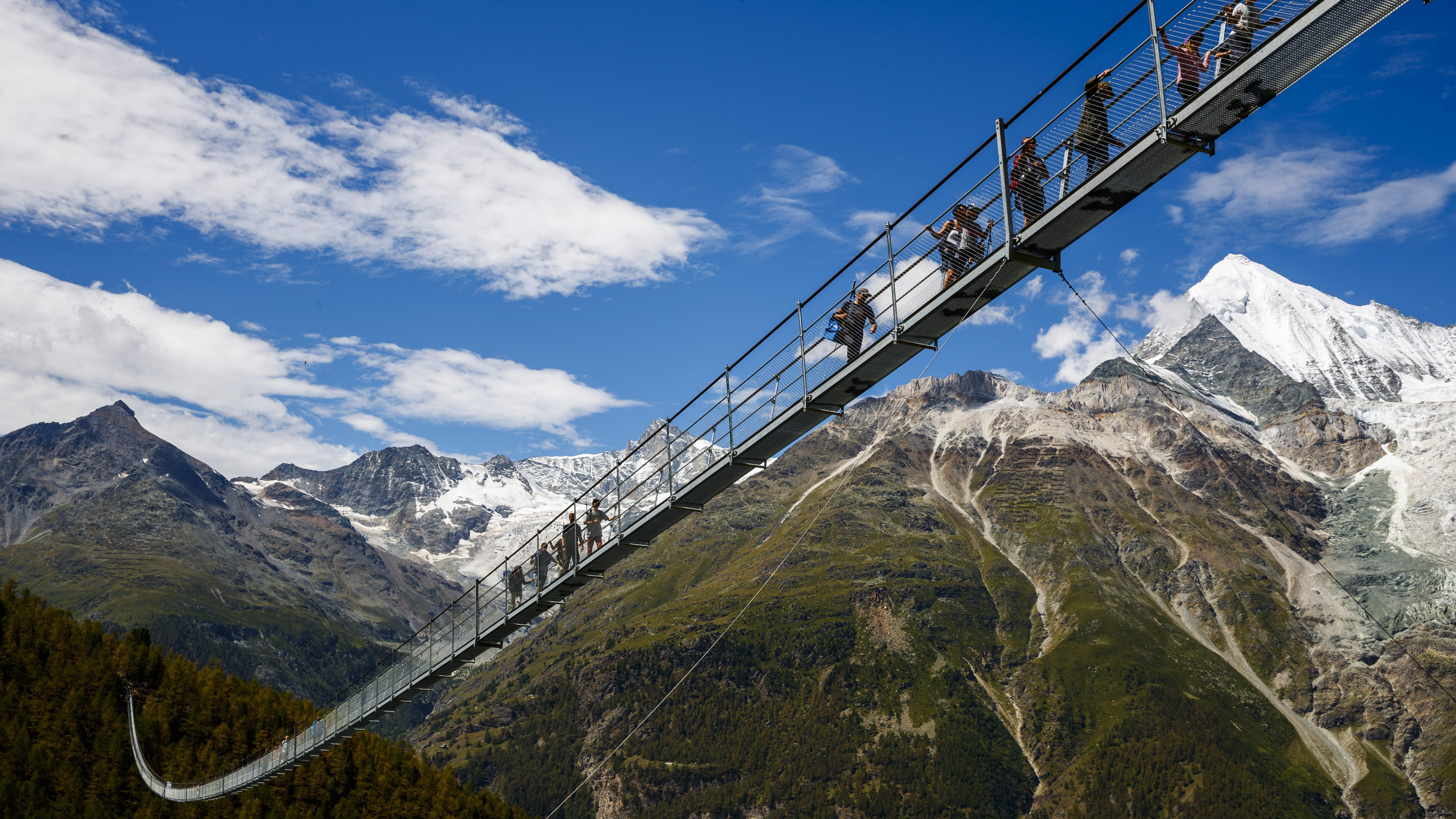 World's longest pedestrian suspension bridge inaugurated