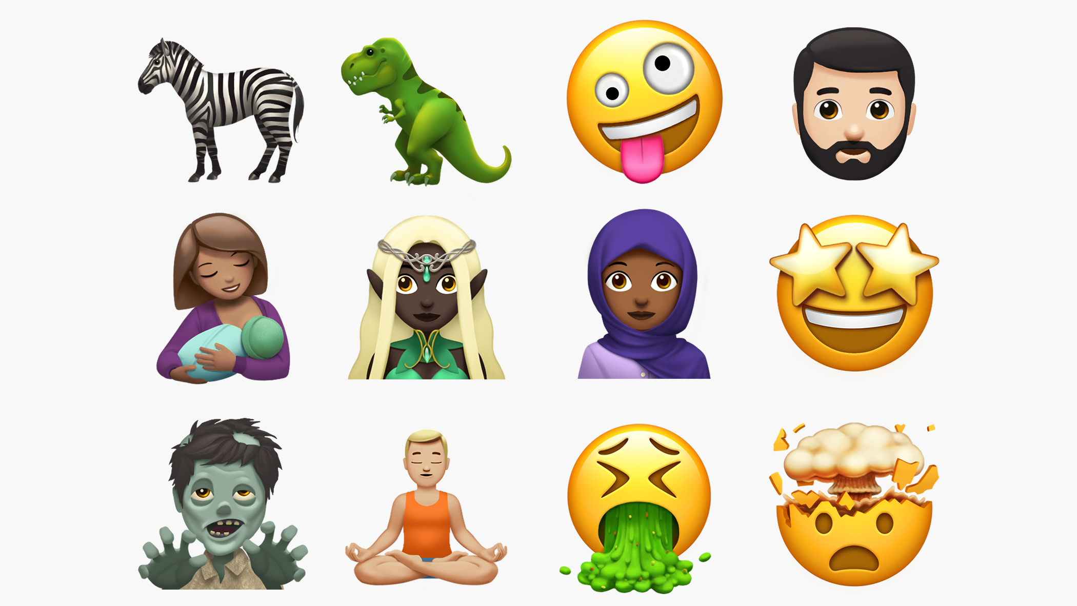 Zombies and vomit: The new emoji coming soon to the iPhone