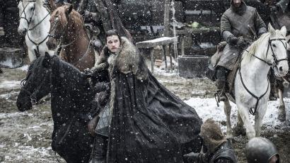 Kit Harrington reprises his role as Jon Snow in the seventh season of Game of Thrones.
