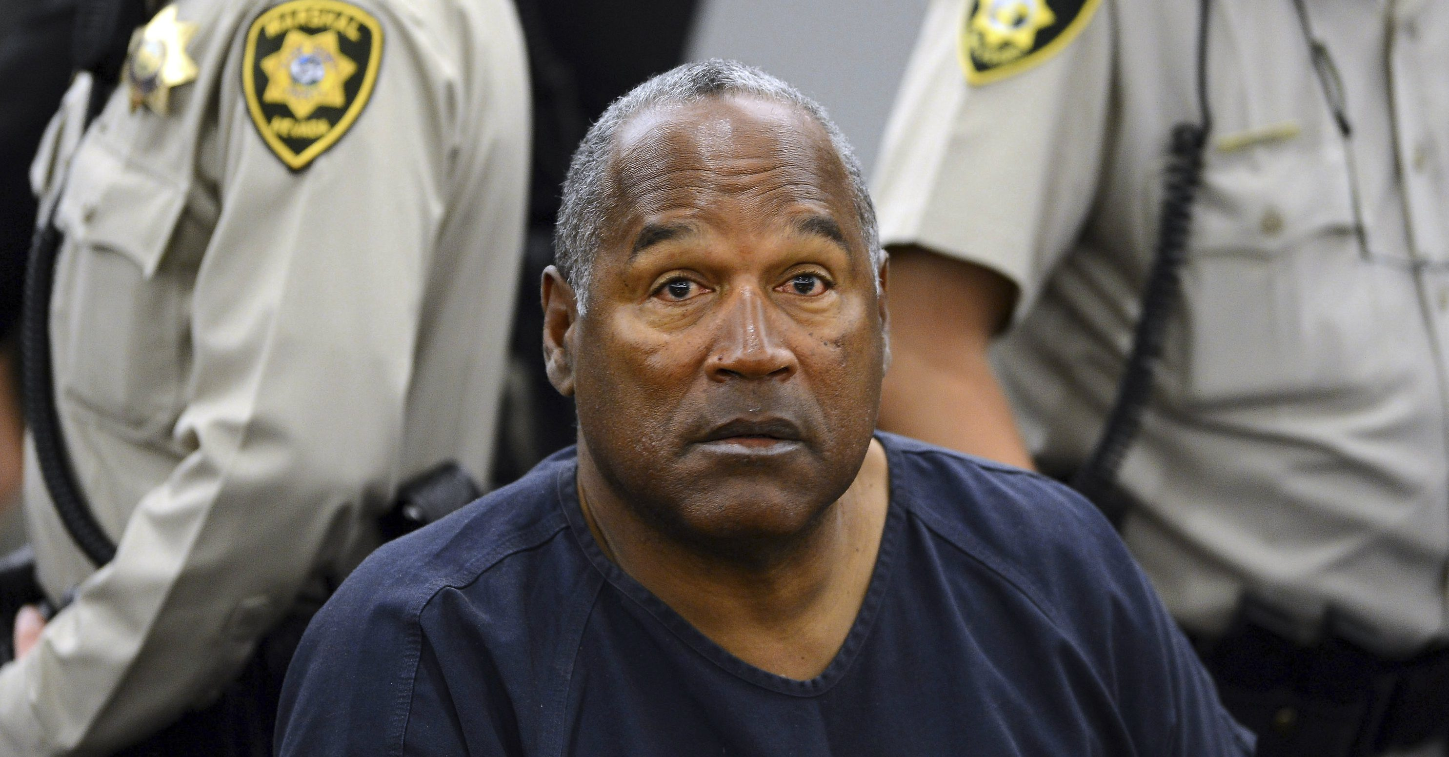 OJ Simpson at trial
