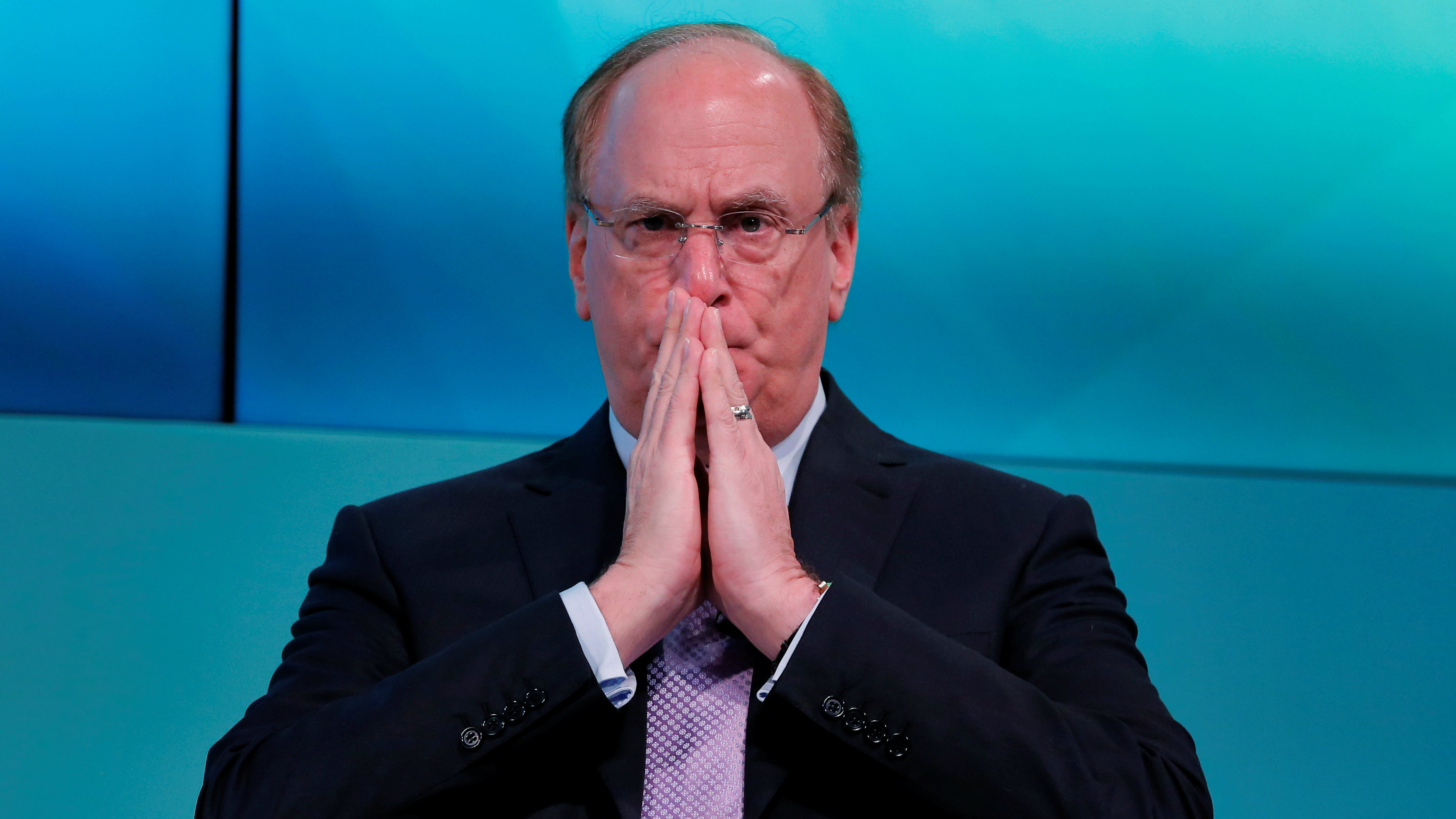 Larry Fink, Chief Executive Officer of BlackRock, takes part in the Yahoo Finance All Markets Summit in New York, U.S., February 8, 2017.
