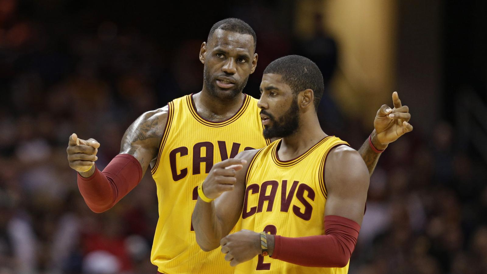 "d826e75951cb Kyrie Irving s resentment of LeBron James is a phenomenon called ""the  Disease of Me"""