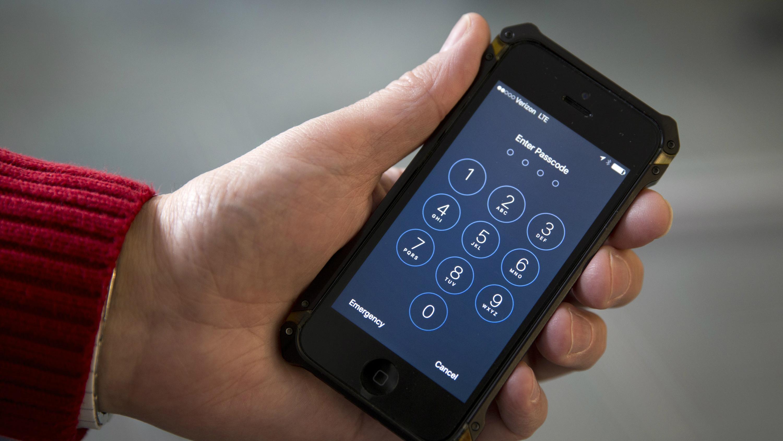 locked cellphone