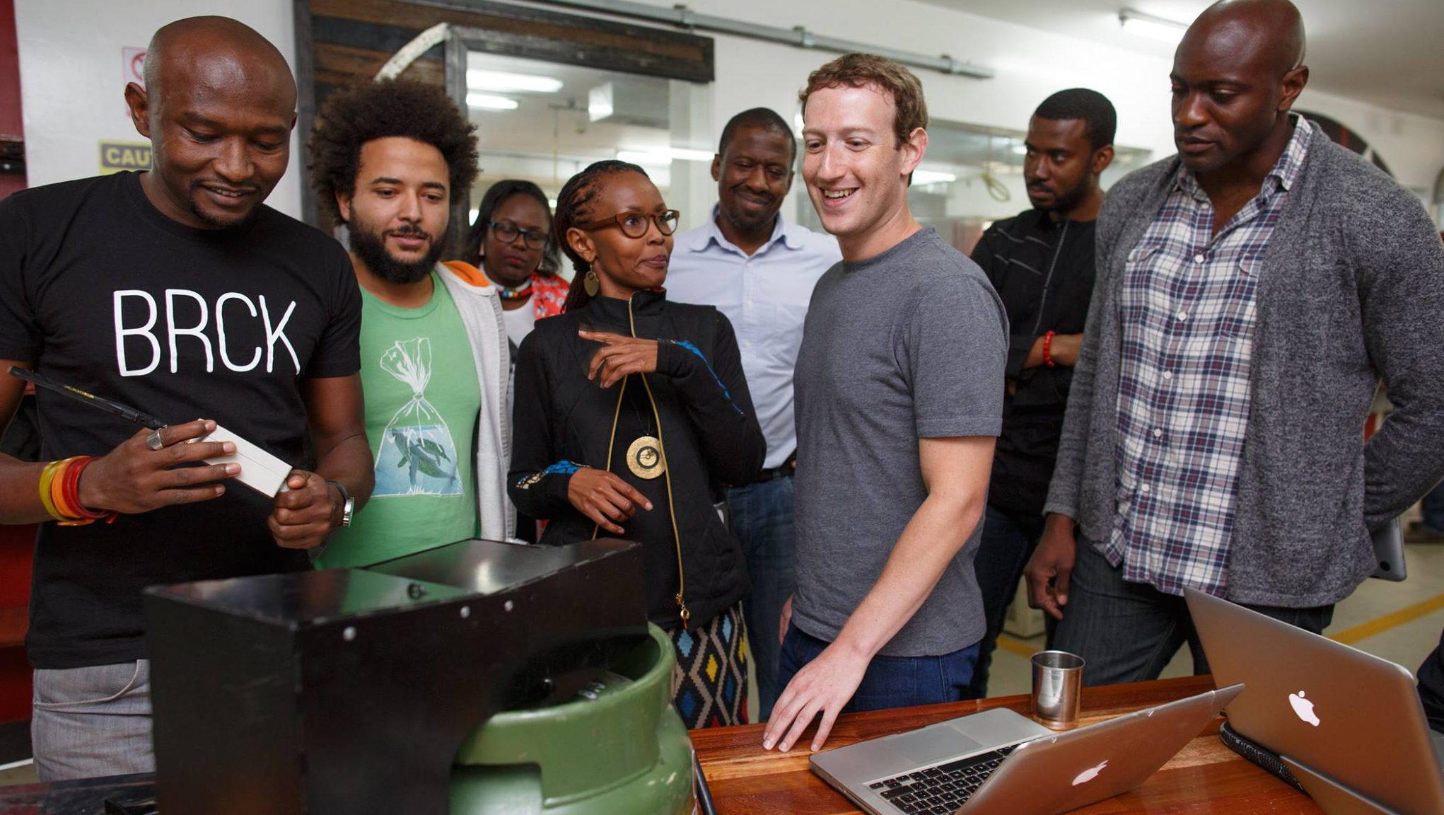 Mark in Kenya