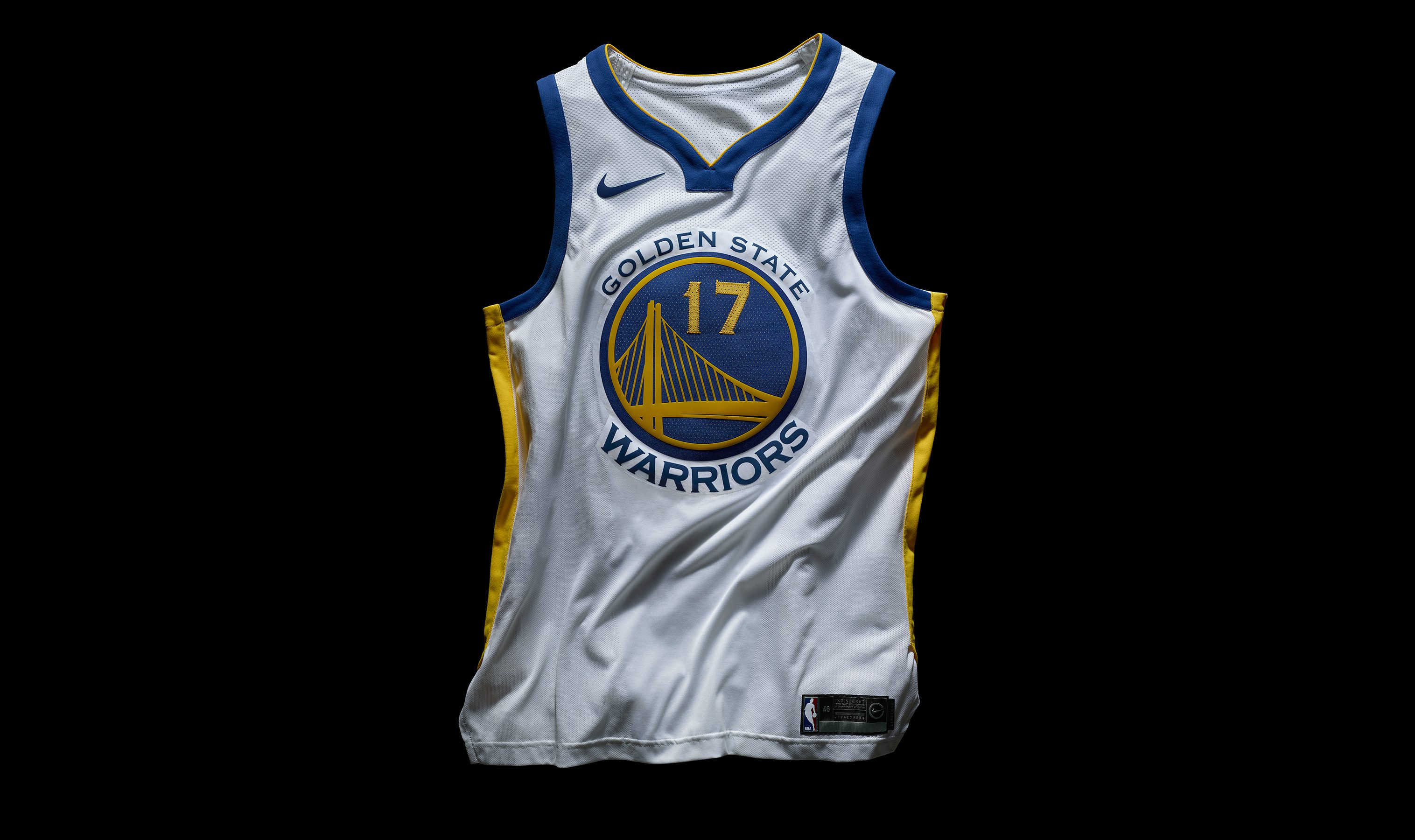 Nike's new Golden State Warriors jersey