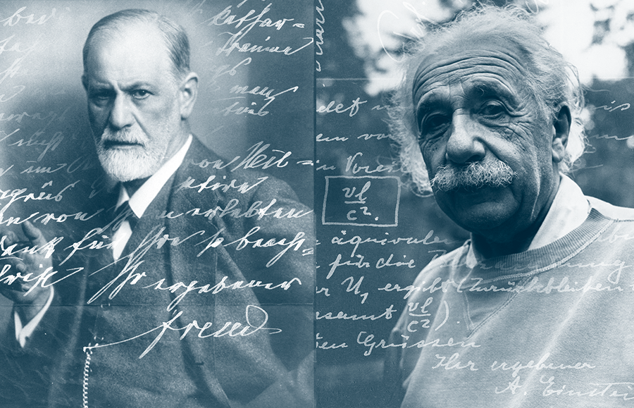 Why War? Send Freud and Einstein's theories on the