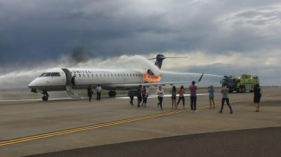 United Express Denver Airplane Emergency What Happens