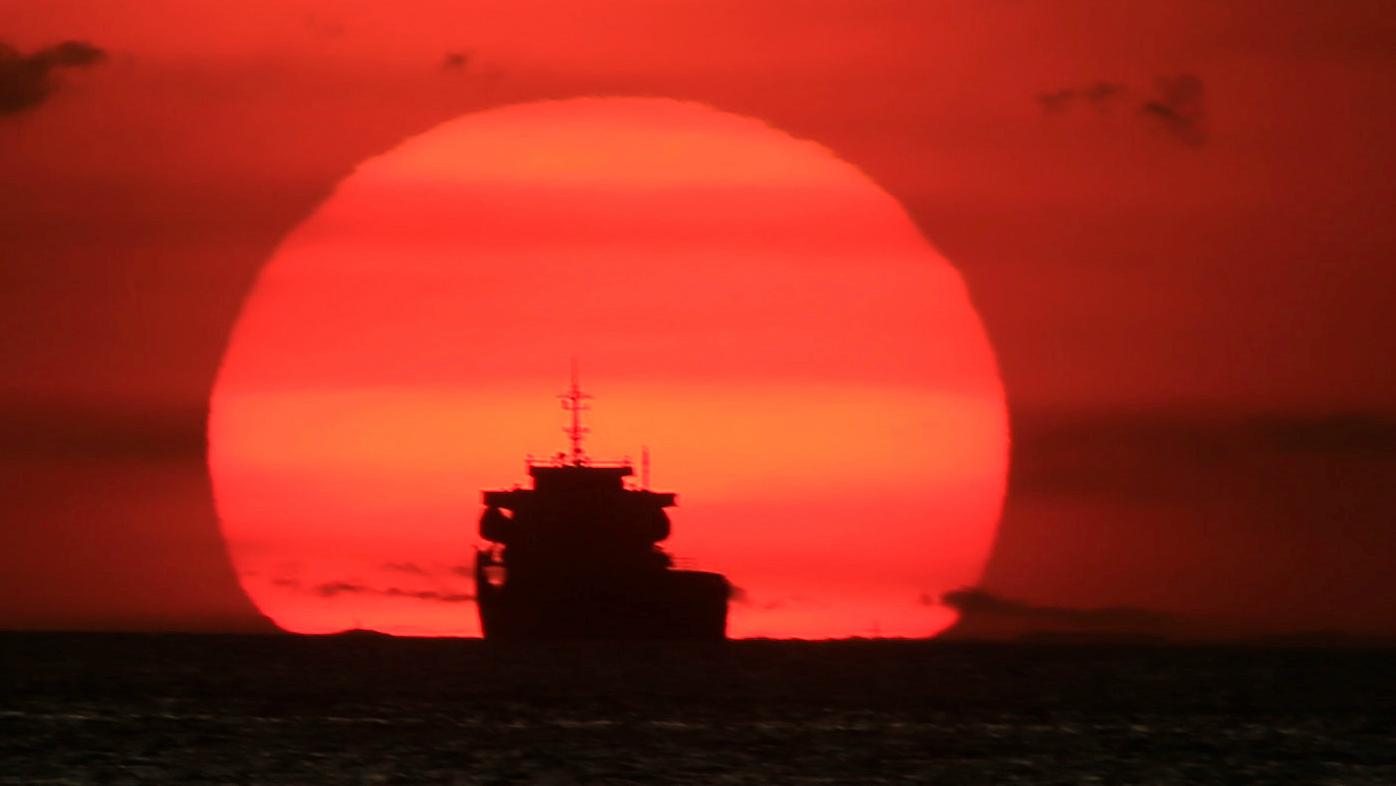 Reuters Romeo Ranoco Cargo ship2