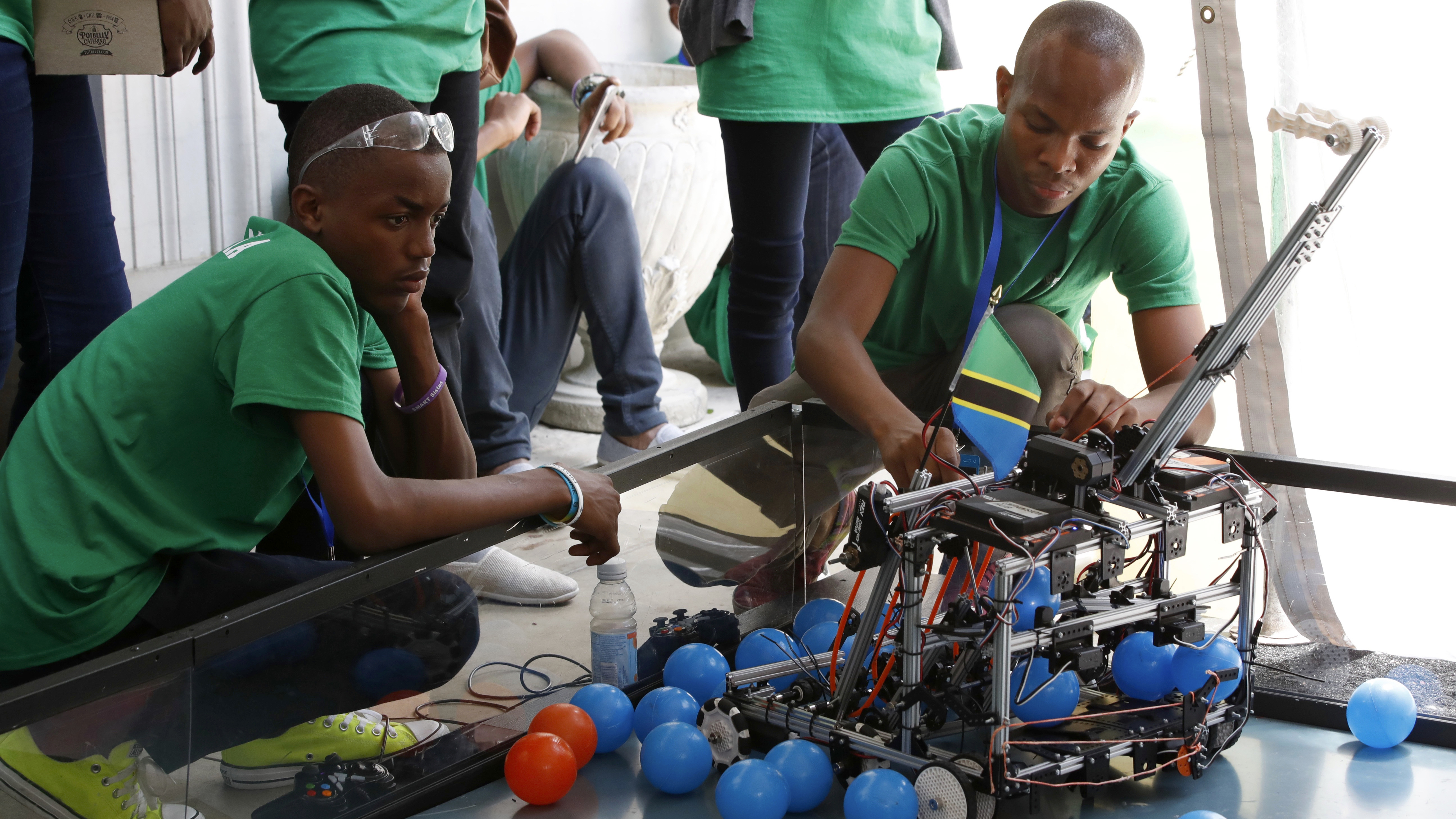 Robots may threaten manufacturing and other semi-skilled jobs in Africa, deepening income inequality