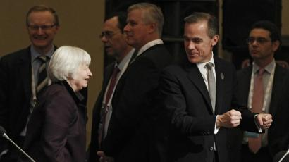 Janet Yellen and Mark Carney