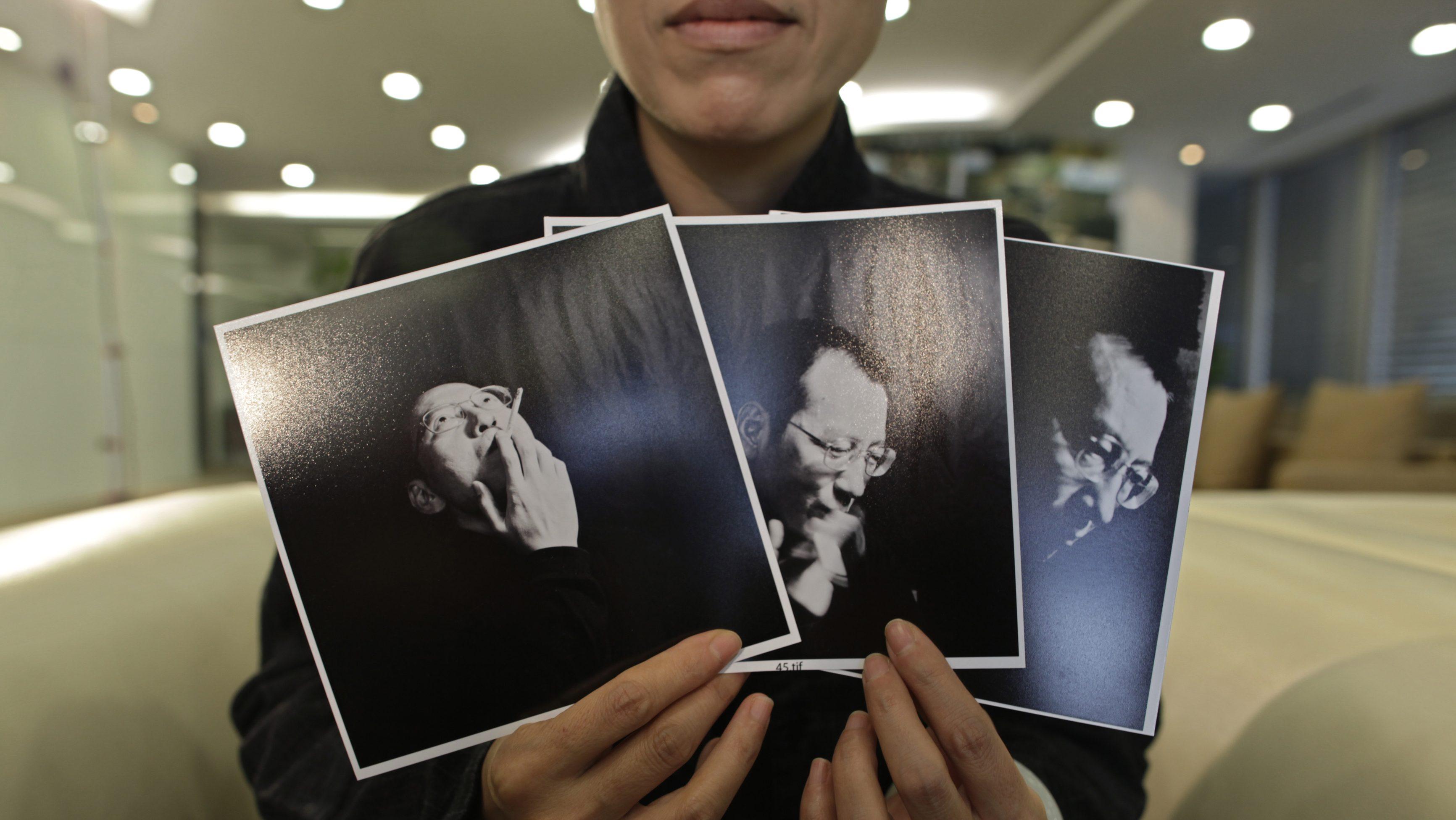 Liu Xia, the wife of Chinese dissident Liu Xiaobo