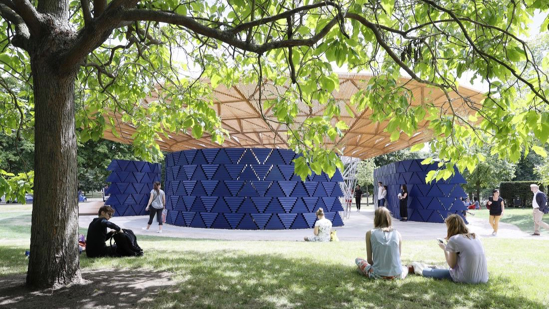 Francis Kéré is the first African architect to design the Serpentine Gallery Pavilion, with a focus on climate change and sustainability