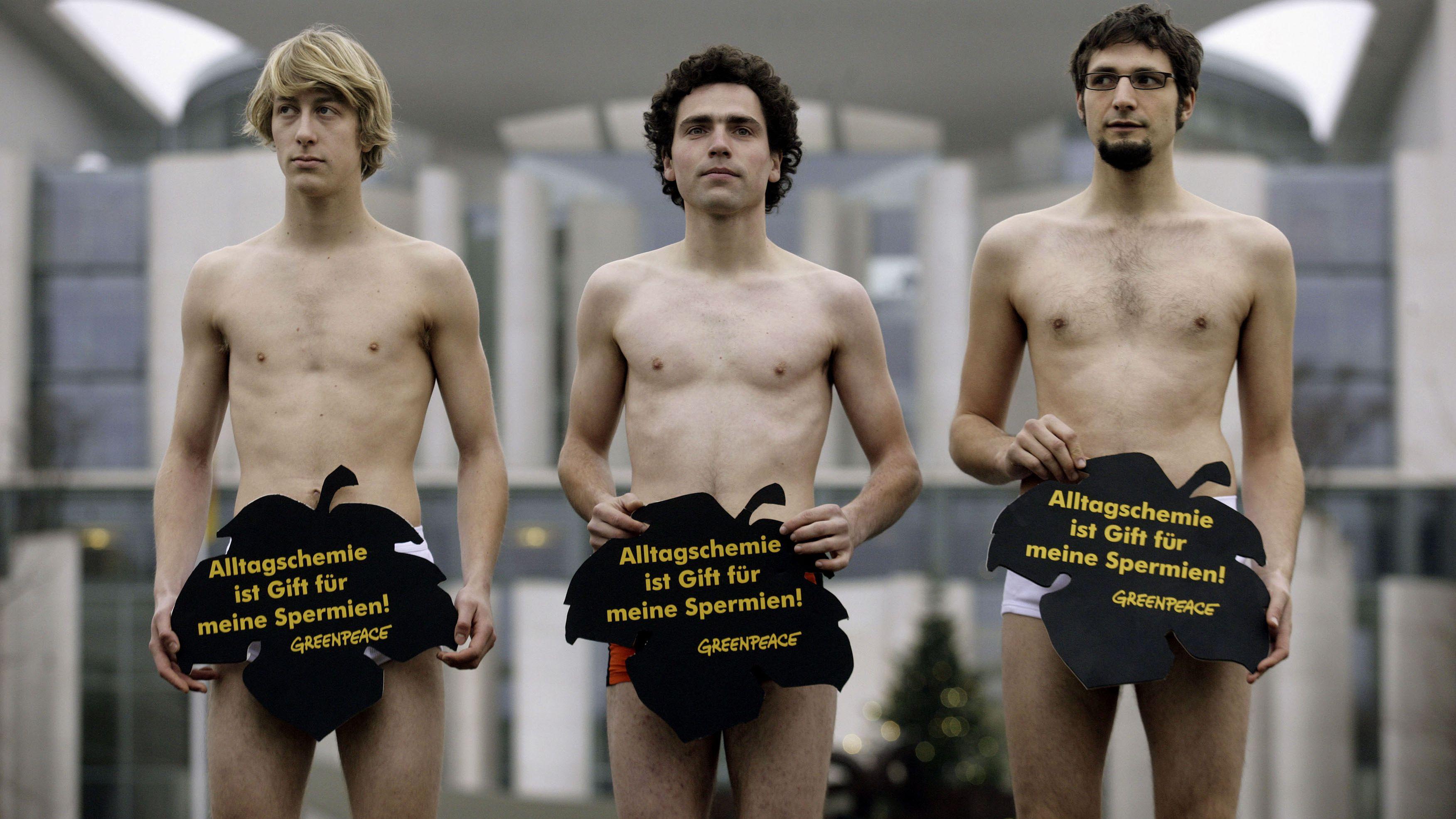 Sperm protestors