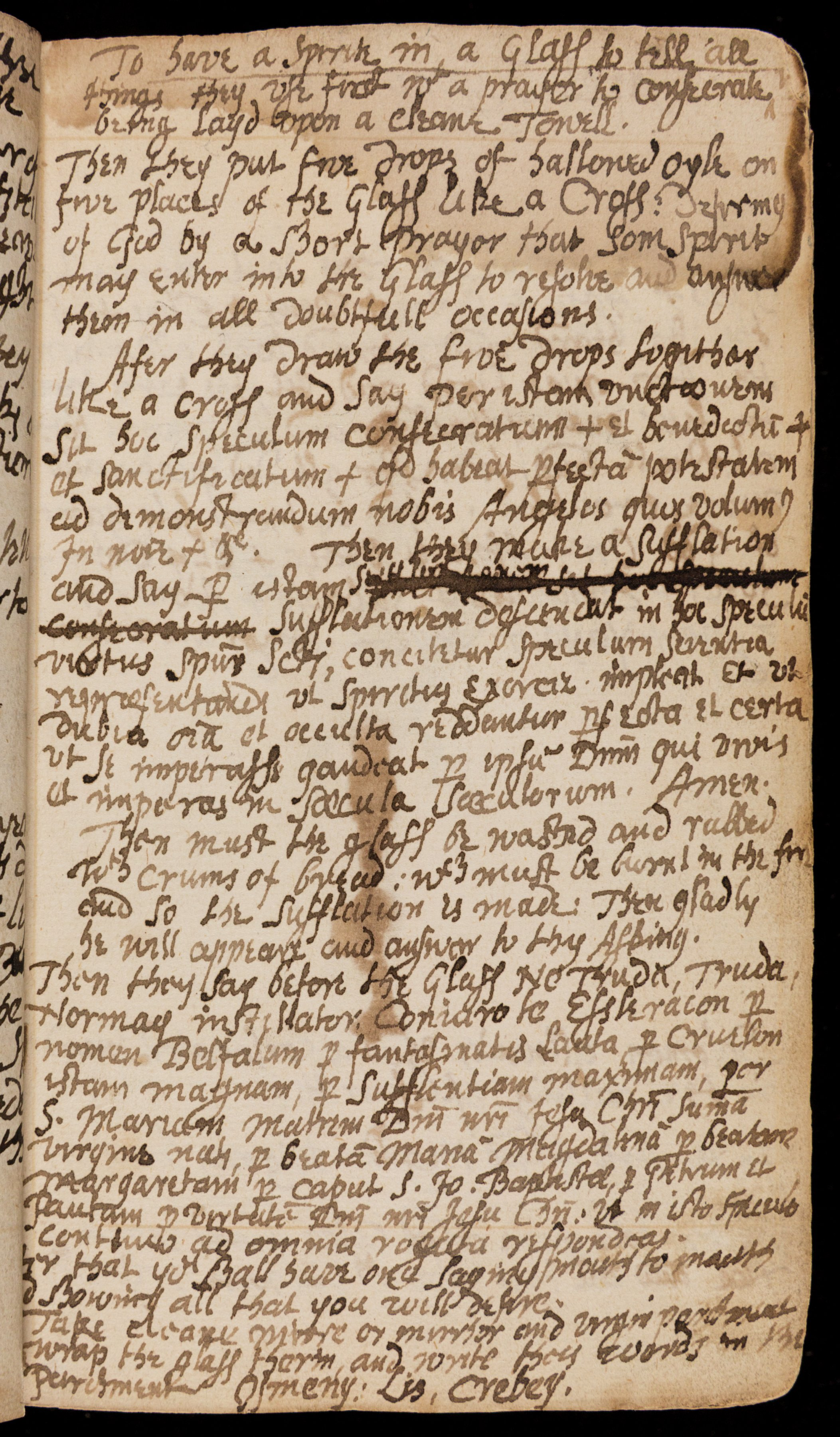 Rare spellbook manuscript details how witchcraft was done in