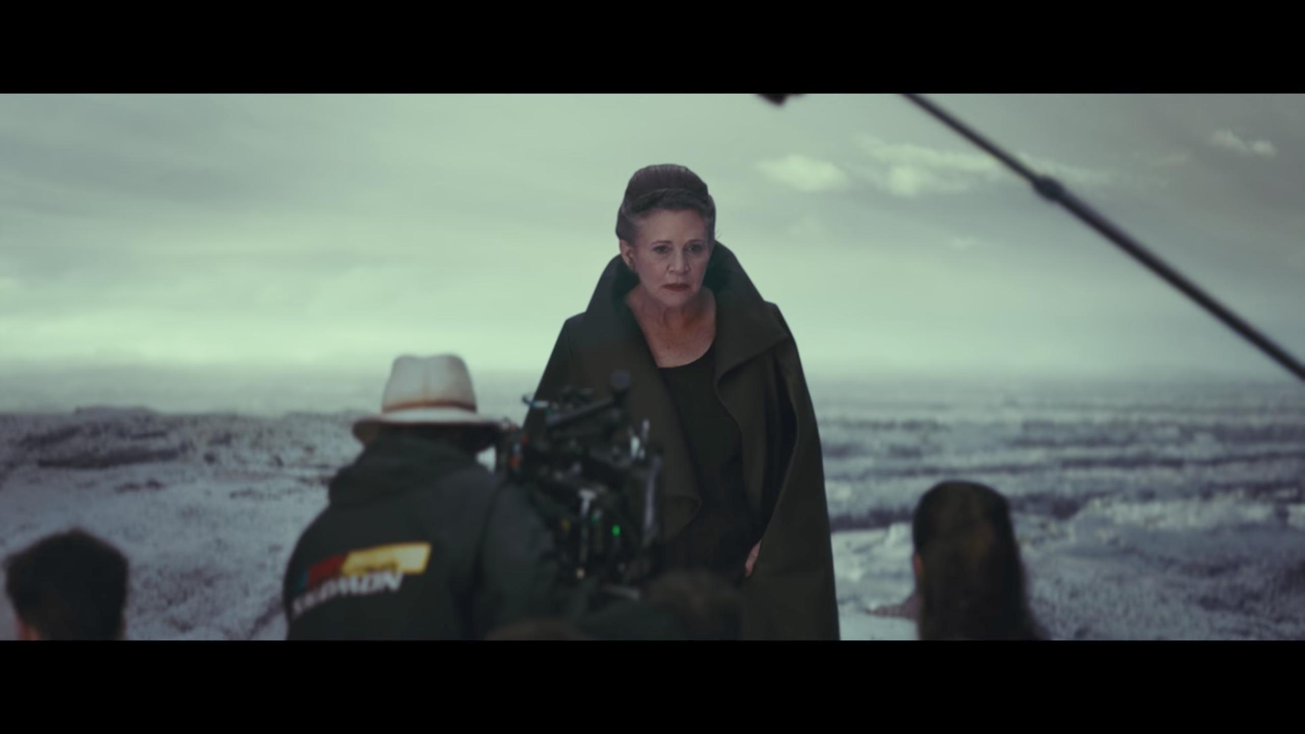 star wars the last jedi new footage