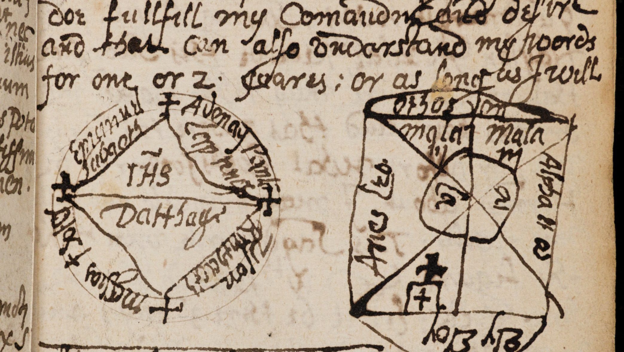 Rare spellbook manuscript details how witchcraft was done in the rare spellbook manuscript details how witchcraft was done in the 17th century quartz biocorpaavc Choice Image