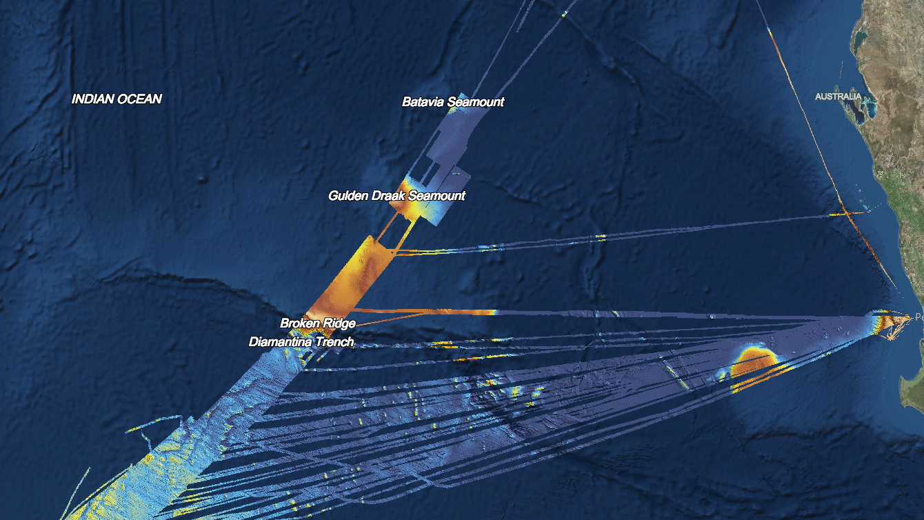 Australia Underwater Map.Australia Releases Data From Mh370 Search That Will Help Both
