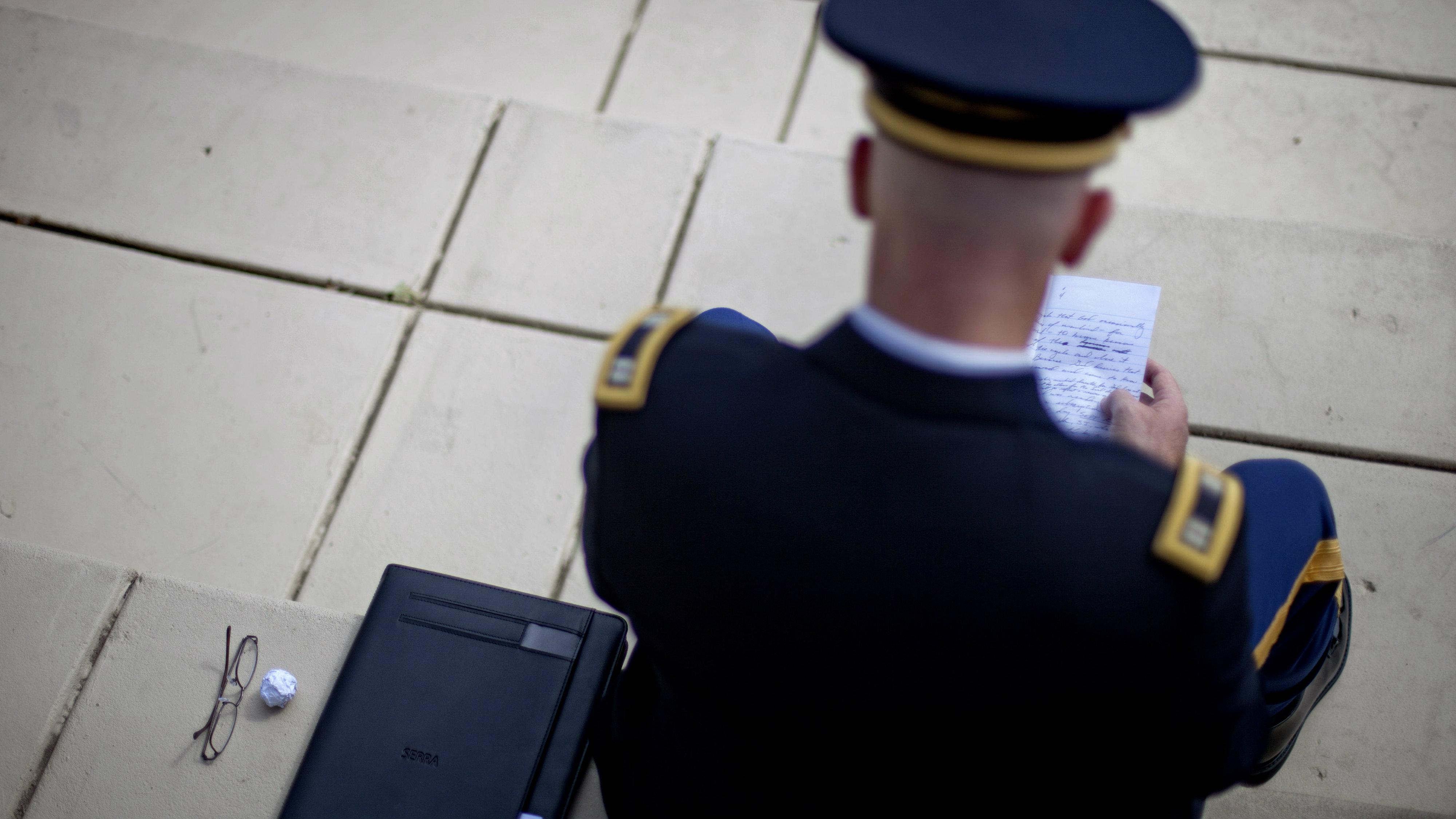 US war veteran