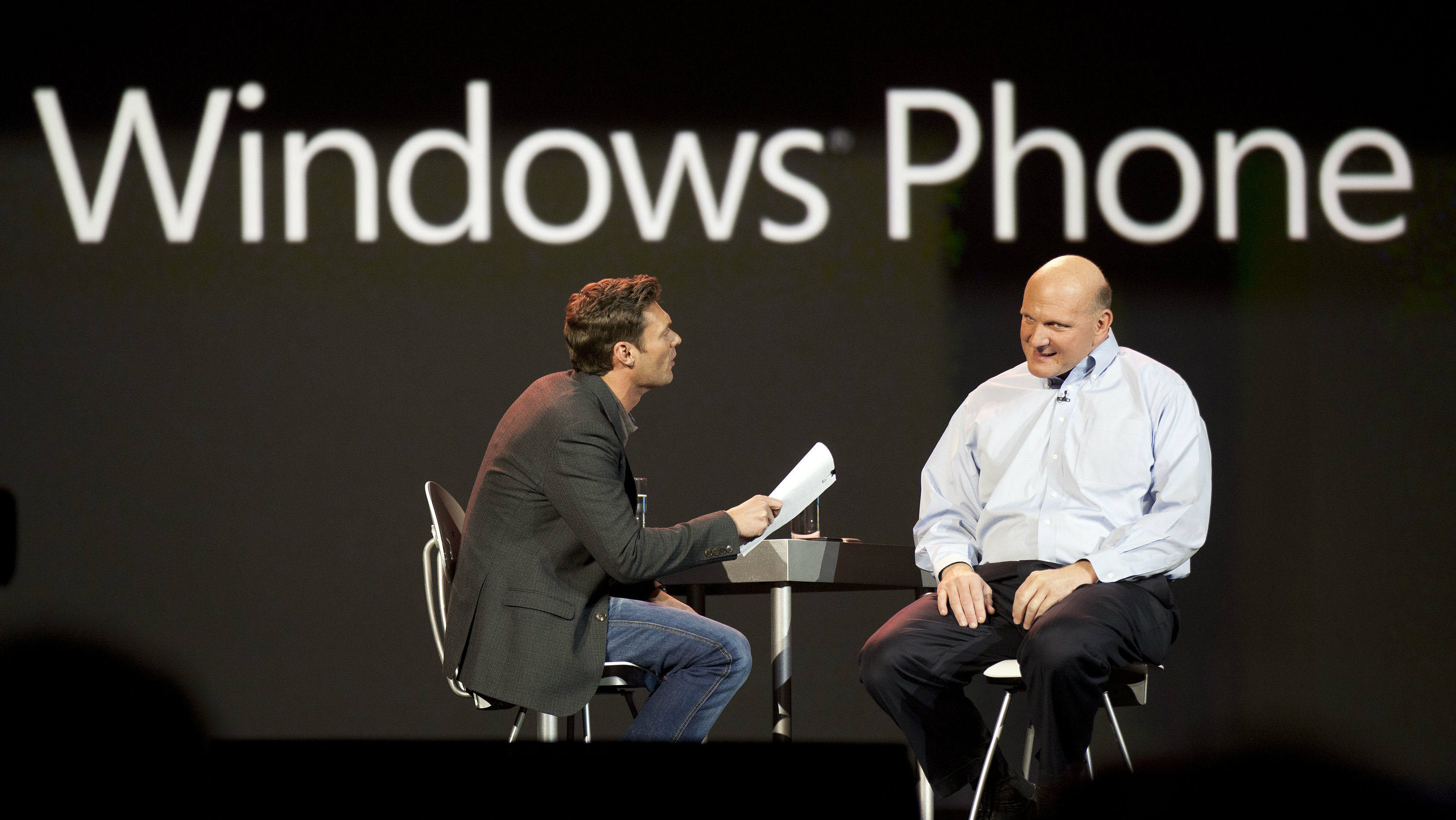 windows phone steve ballmer