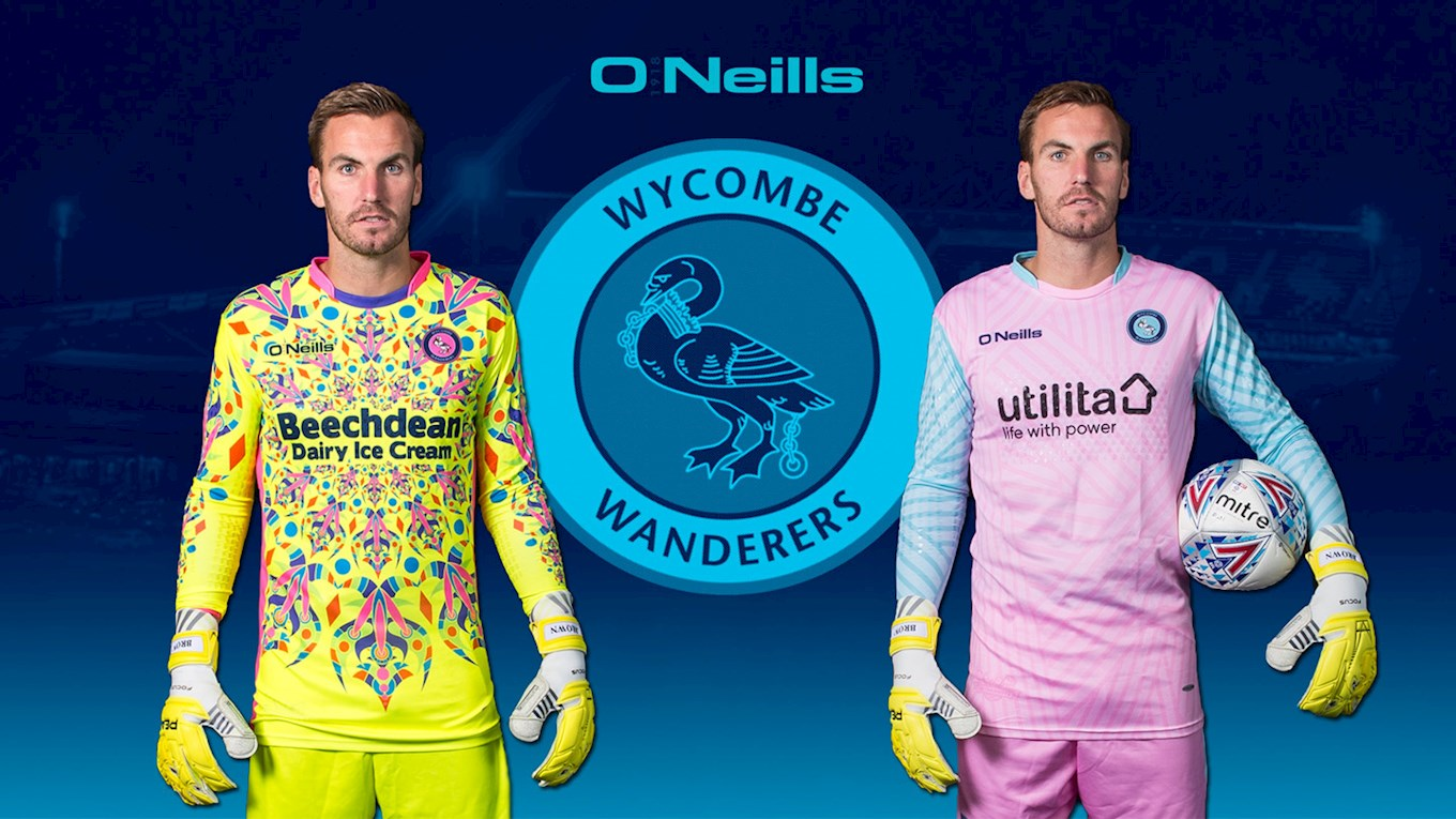 d588c0077 A British soccer club is trying to distract opposition strikers with  kaleidoscopic jerseys