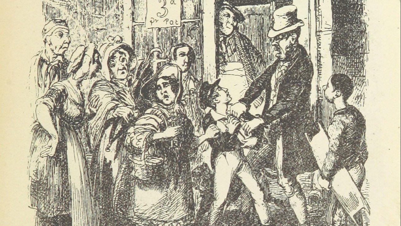 Oliver Twist origins of fake news