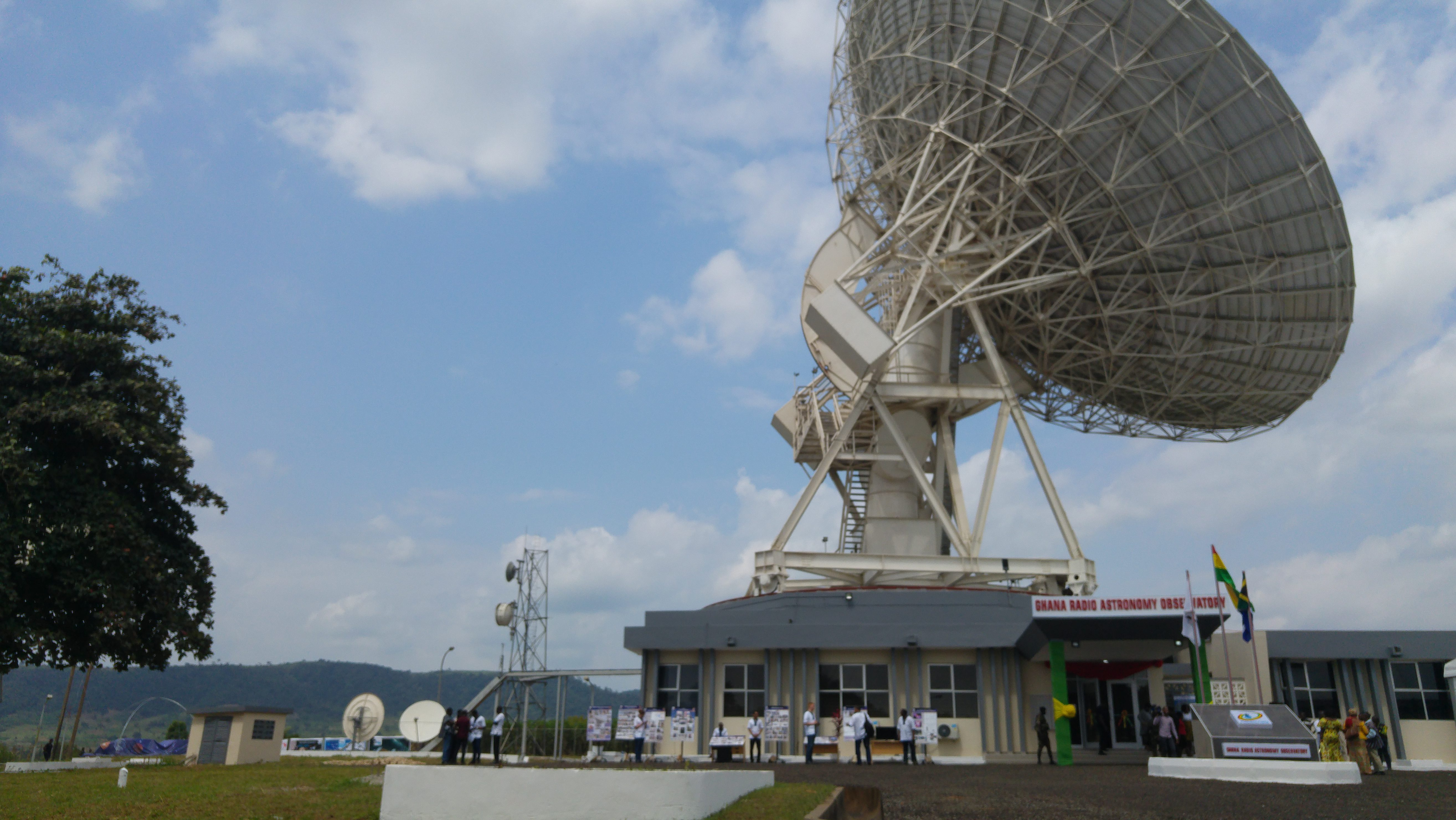 Ghana launched its first radio astronomy observatory on Thursday in an effort to widen knowledge of African skies, catalyze skills development, and attract scientists.