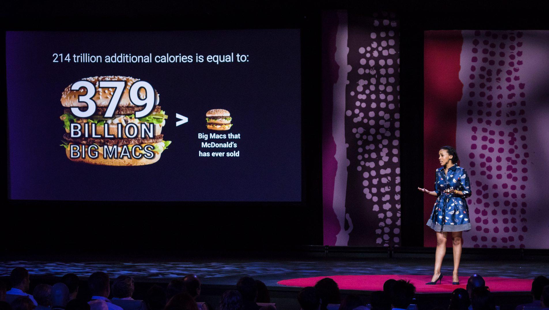 Sara Menker speaks at TEDGlobal 2017 - Builders, Truth Tellers, Catalysts - August 27-30, 2017, Arusha, Tanzania.