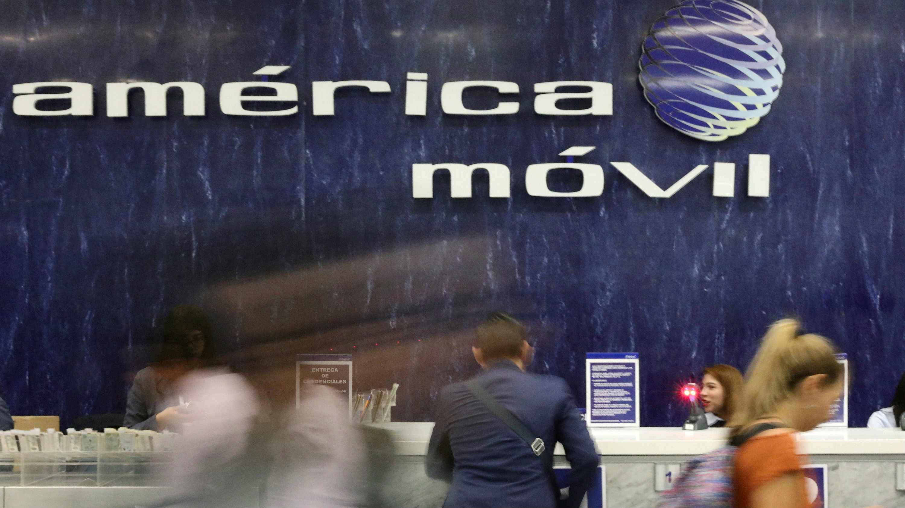 America Movil corporate offices in Mexico City