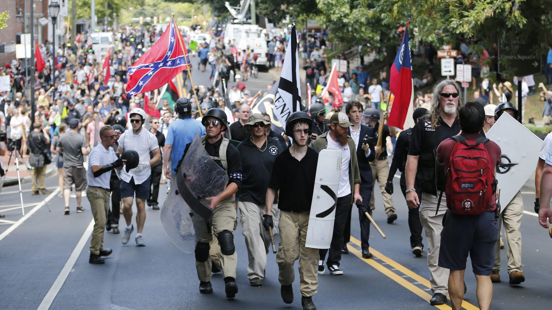 white supremacist march