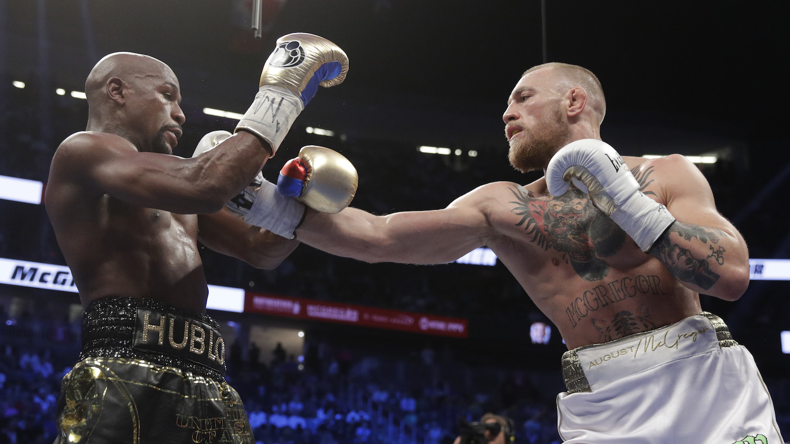 Mayweather Mcgregor Gave Us A Rare Sighting Of Al Haymon The Most