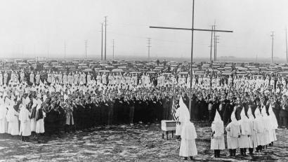 Klu Klux Klan meeting