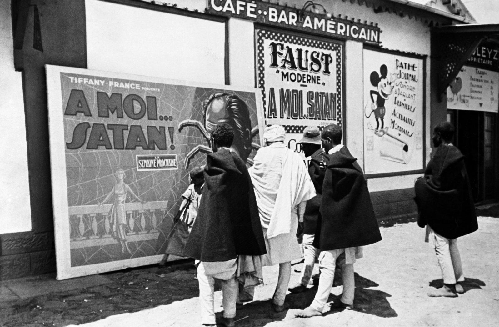 Cinema Addis Ababa 1935